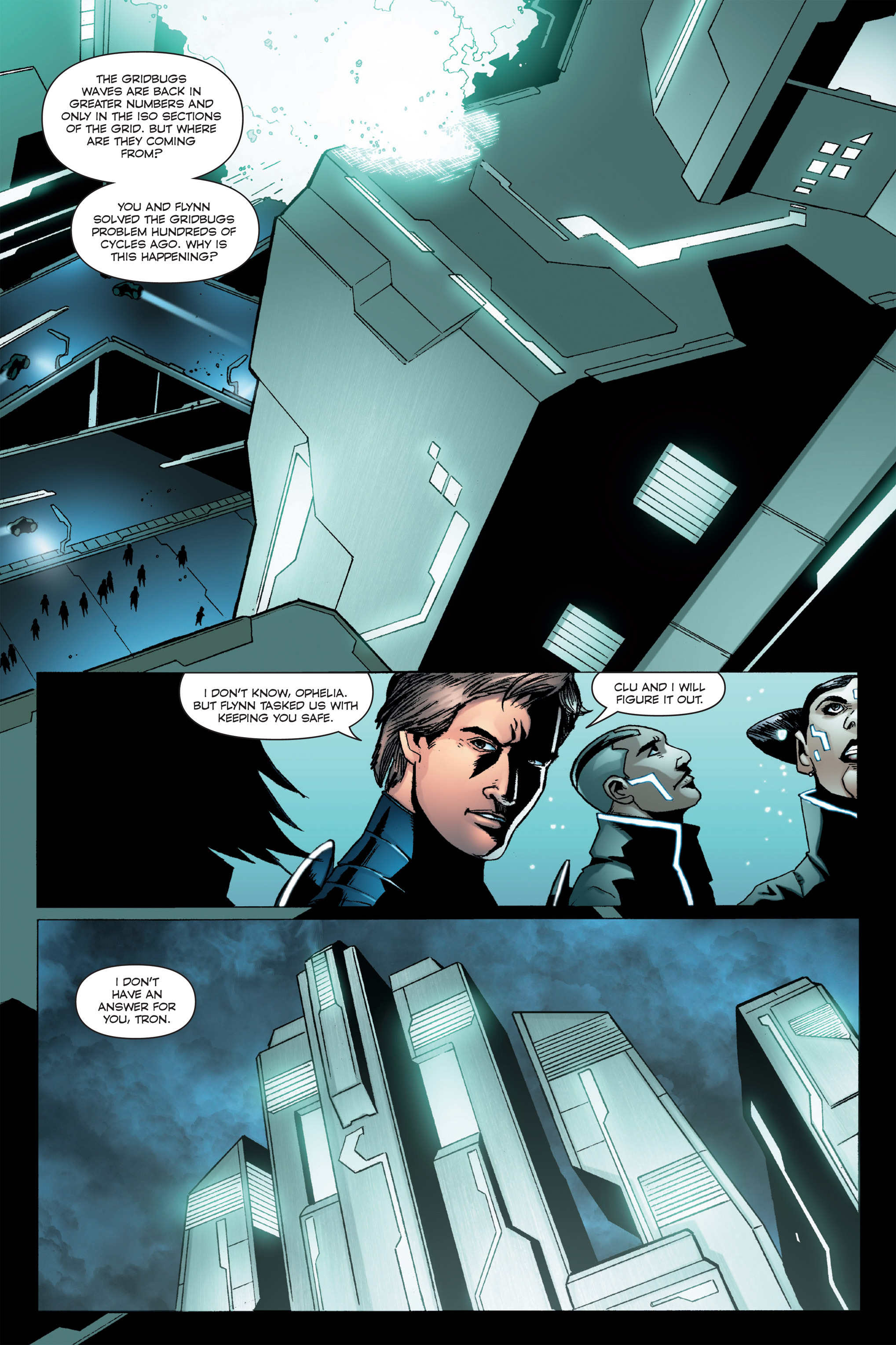 Read online TRON: Betrayal comic -  Issue # TPB - 42