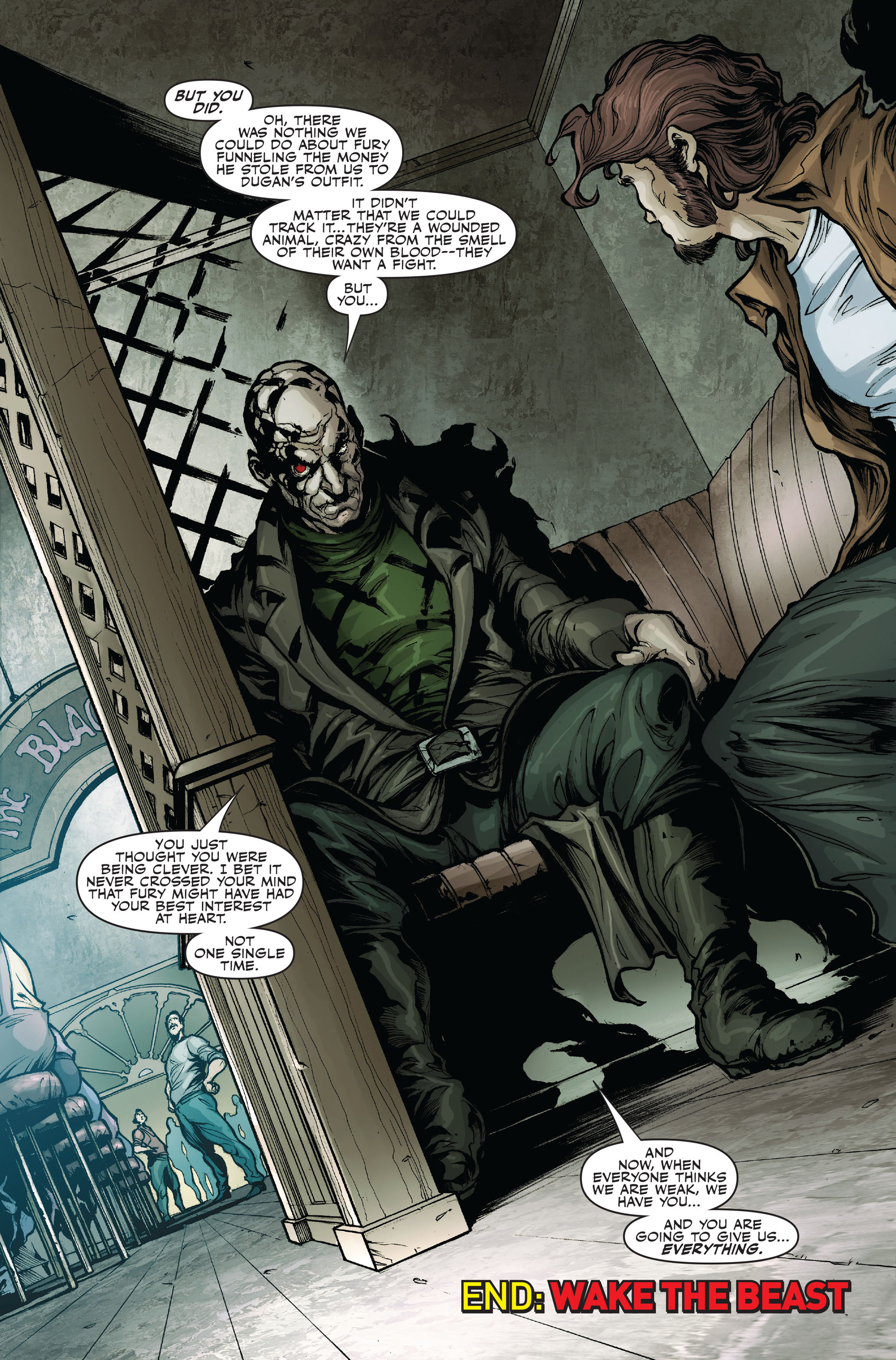 Read online Secret Warriors comic -  Issue #16 - 24