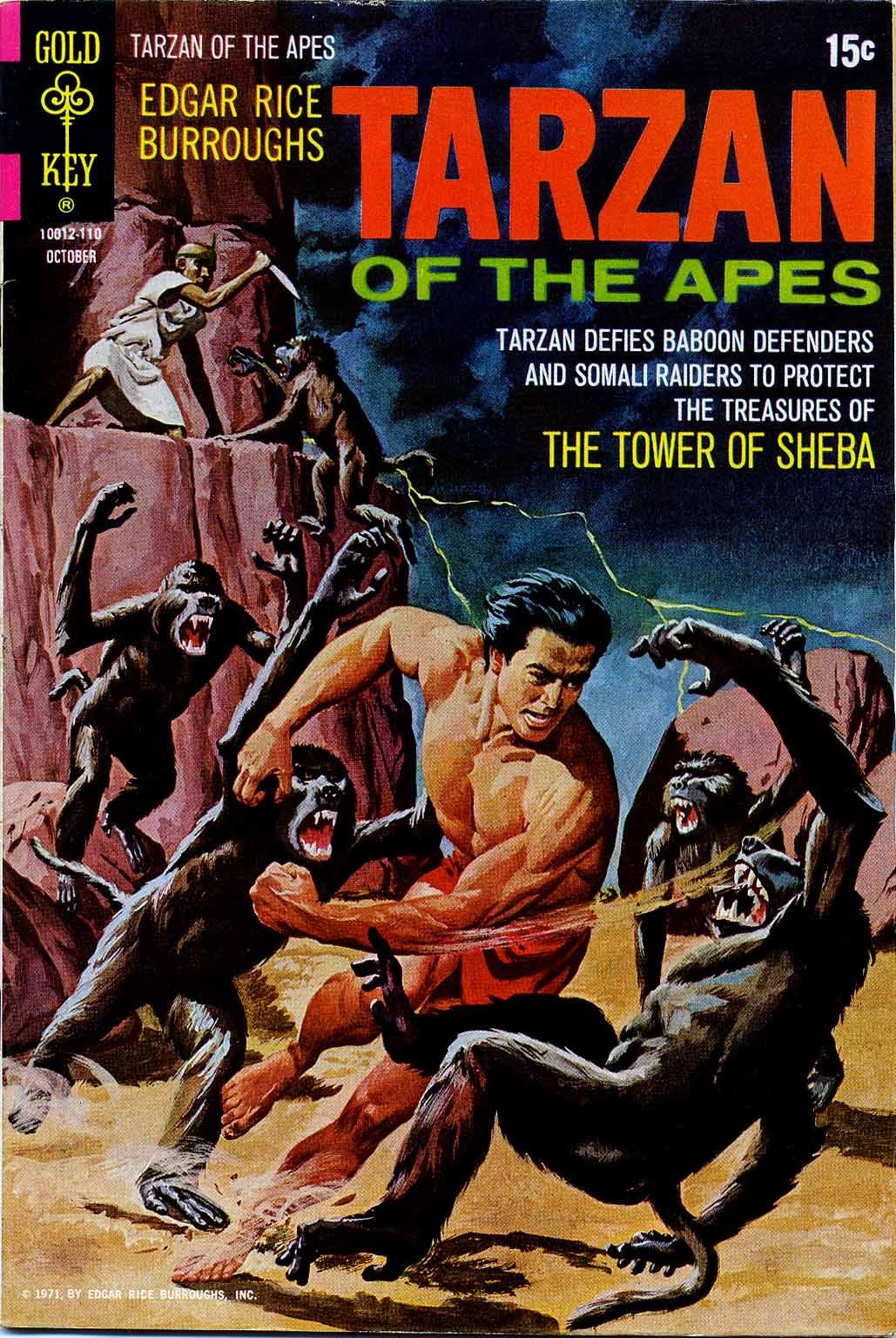 Tarzan (1962) issue 204 - Page 1