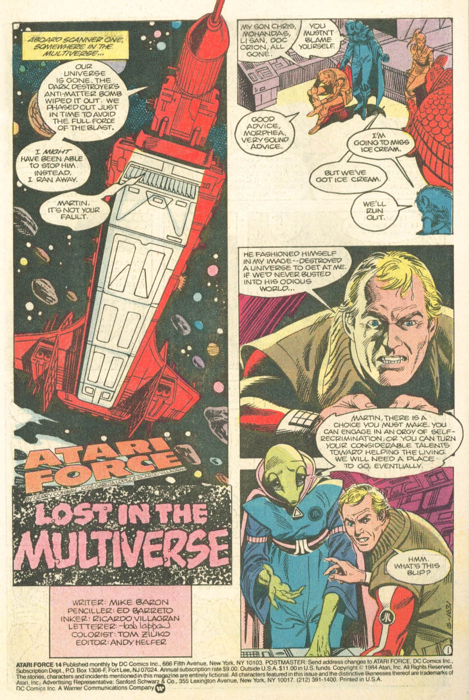 Read online Atari Force (1984) comic -  Issue #14 - 3