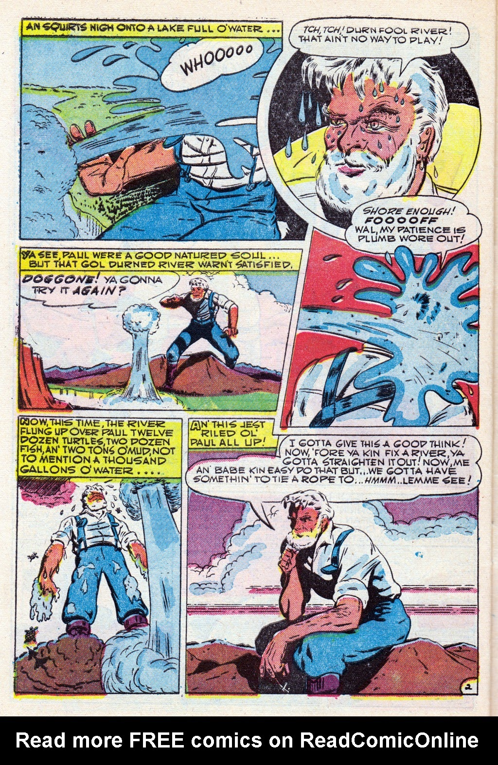 Cowboy Western Comics (1948) issue 18 - Page 32