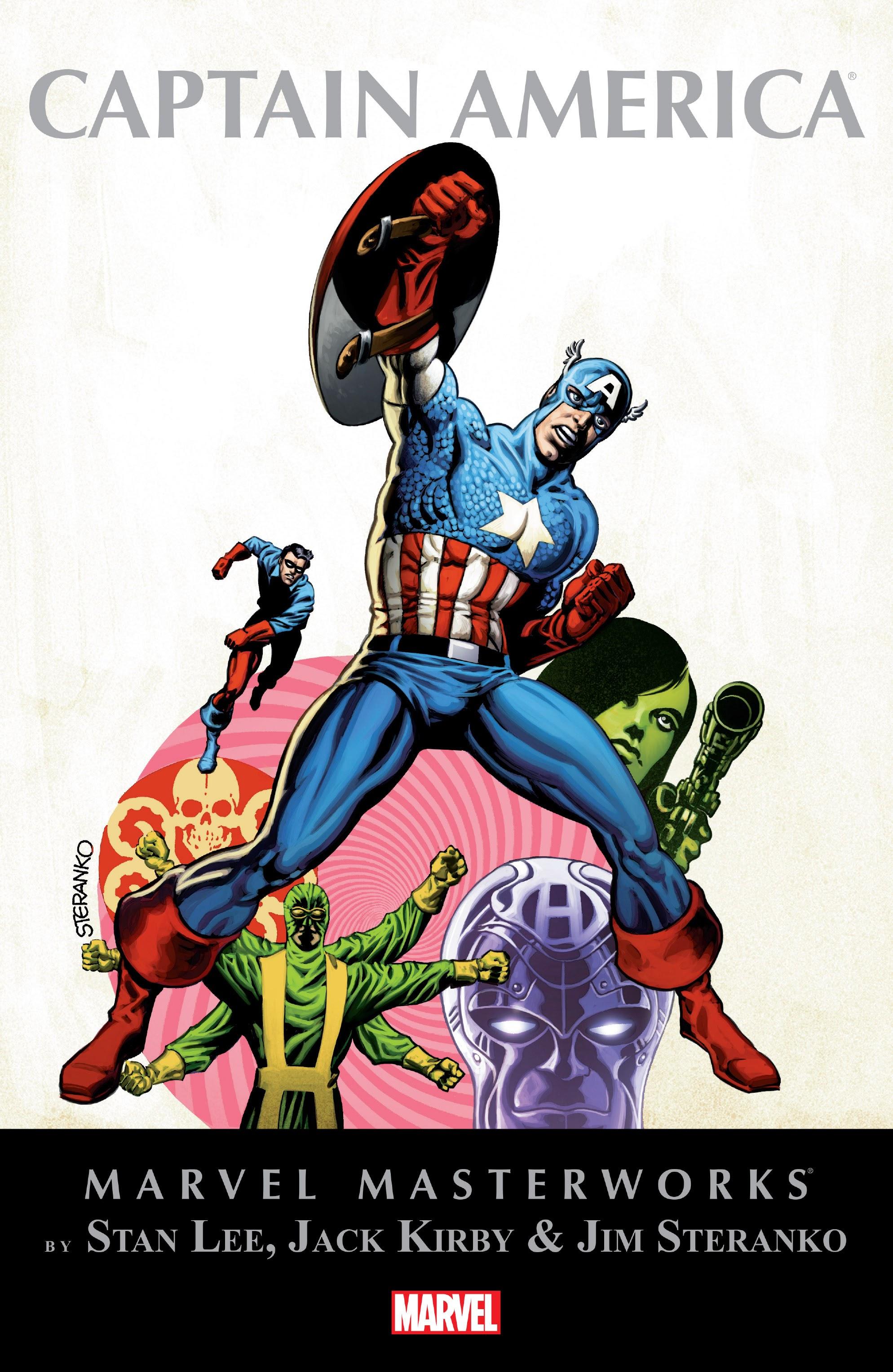 Marvel Masterworks: Captain America TPB_3_(Part_1) Page 1