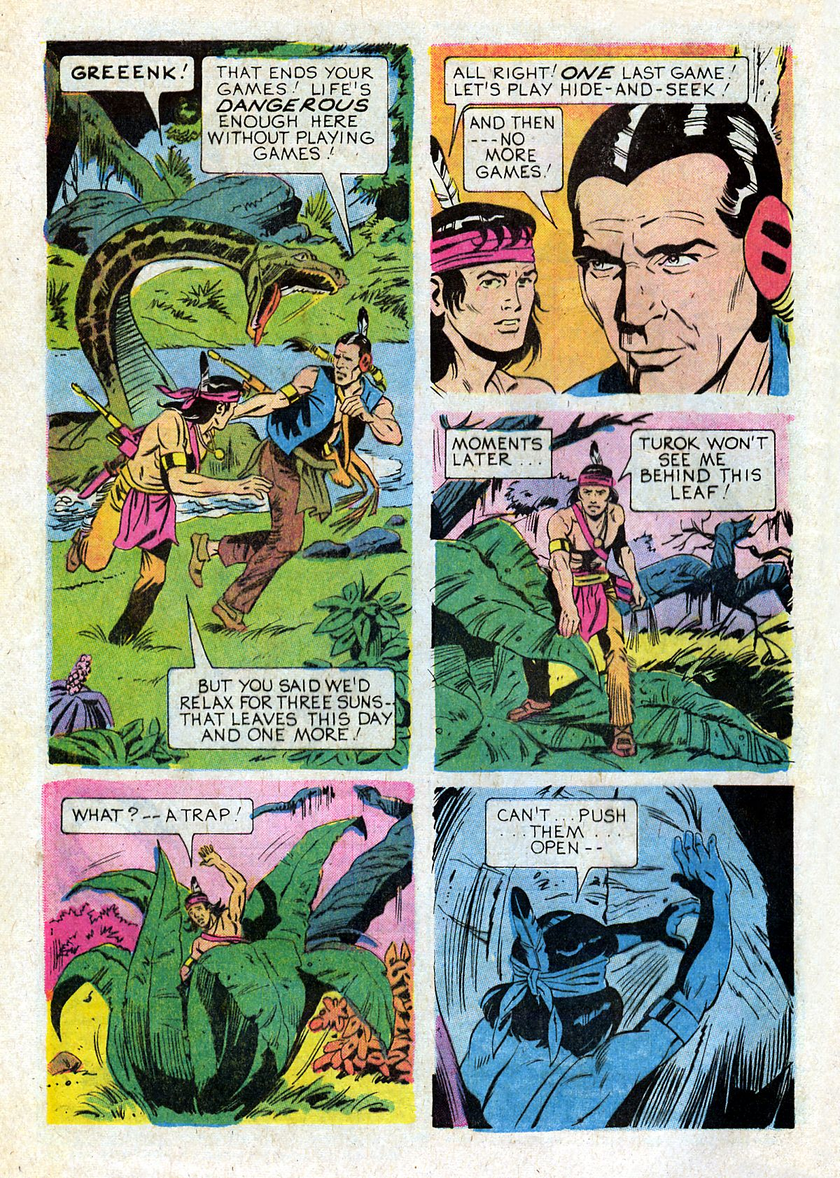 Read online Turok, Son of Stone comic -  Issue #93 - 32