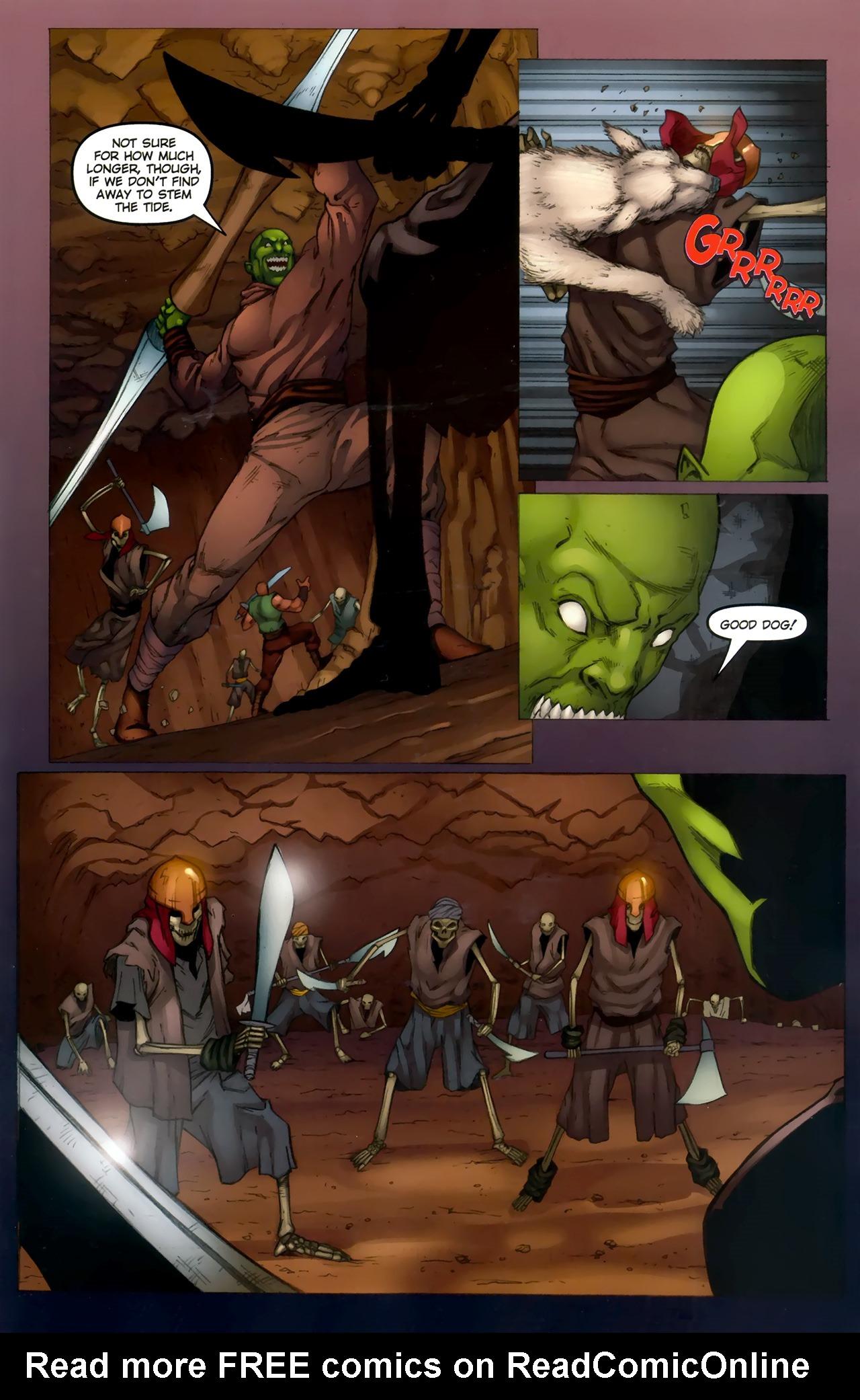 Read online 1001 Arabian Nights: The Adventures of Sinbad comic -  Issue #11 - 17