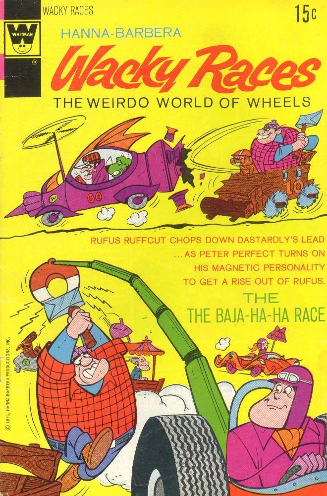 Hanna-Barbera Wacky Races 6 Page 1