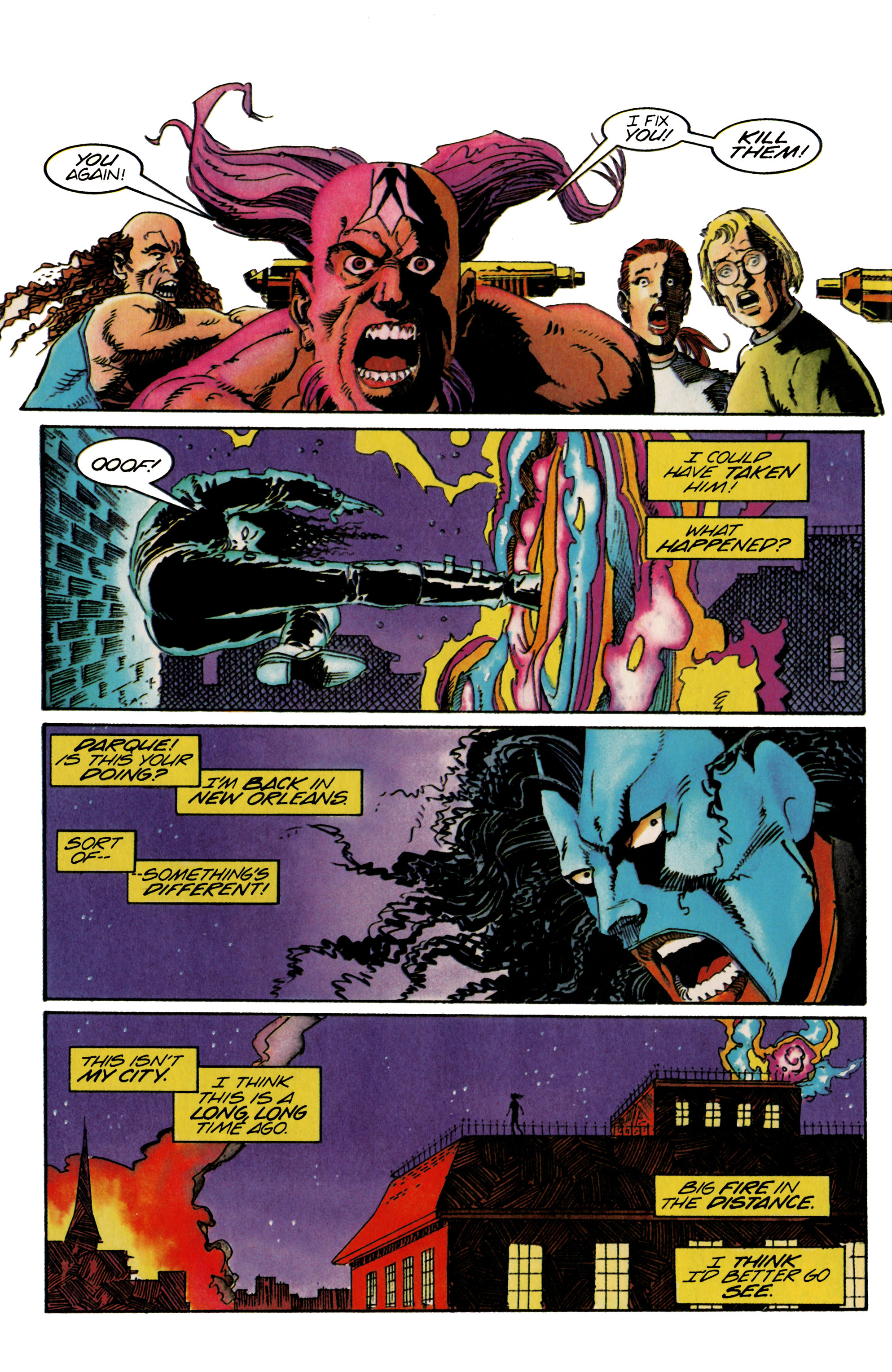 Read online Shadowman (1992) comic -  Issue #21 - 20