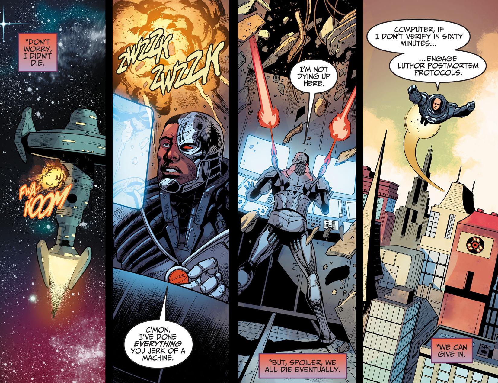 Read online Injustice: Ground Zero comic -  Issue #17 - 17