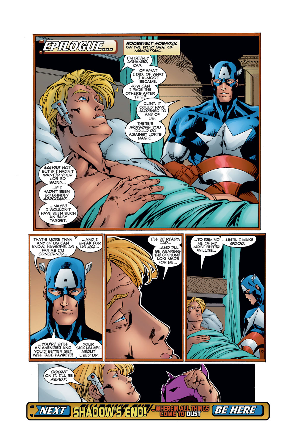 Read online Avengers (1996) comic -  Issue #11 - 23