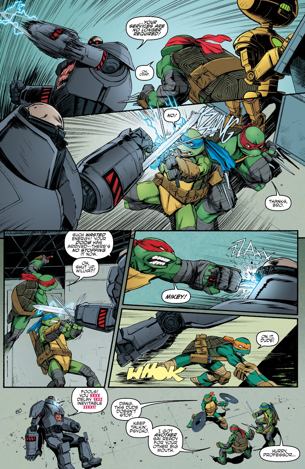 Read online Teenage Mutant Ninja Turtles: The IDW Collection comic -  Issue # TPB 5 (Part 4) - 42