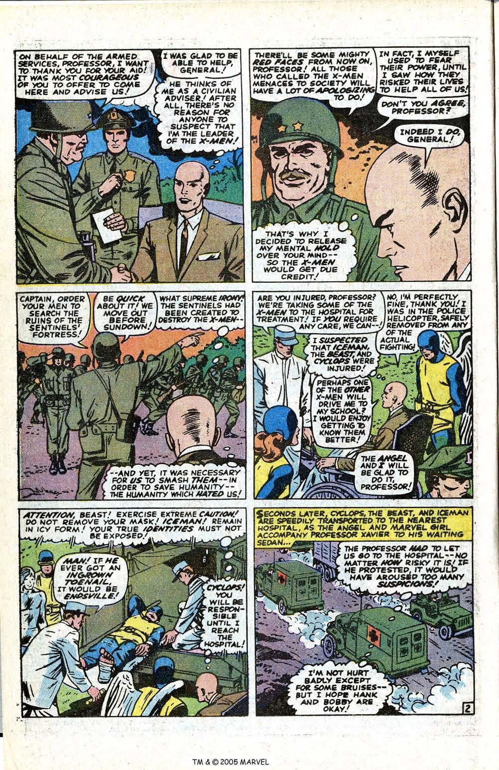 Uncanny X-Men (1963) issue 70 - Page 4