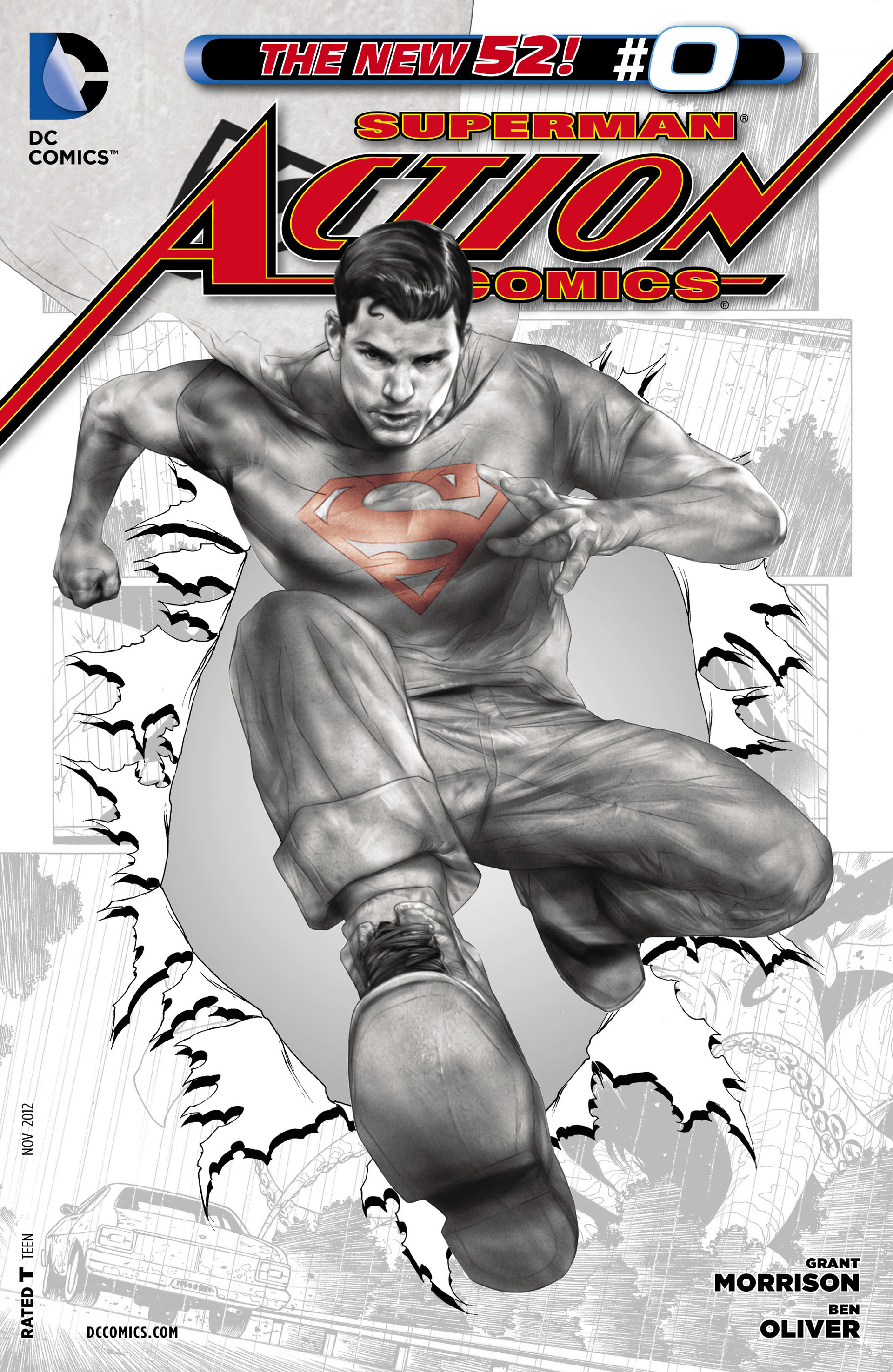 Read online Action Comics (2011) comic -  Issue #0 - 31