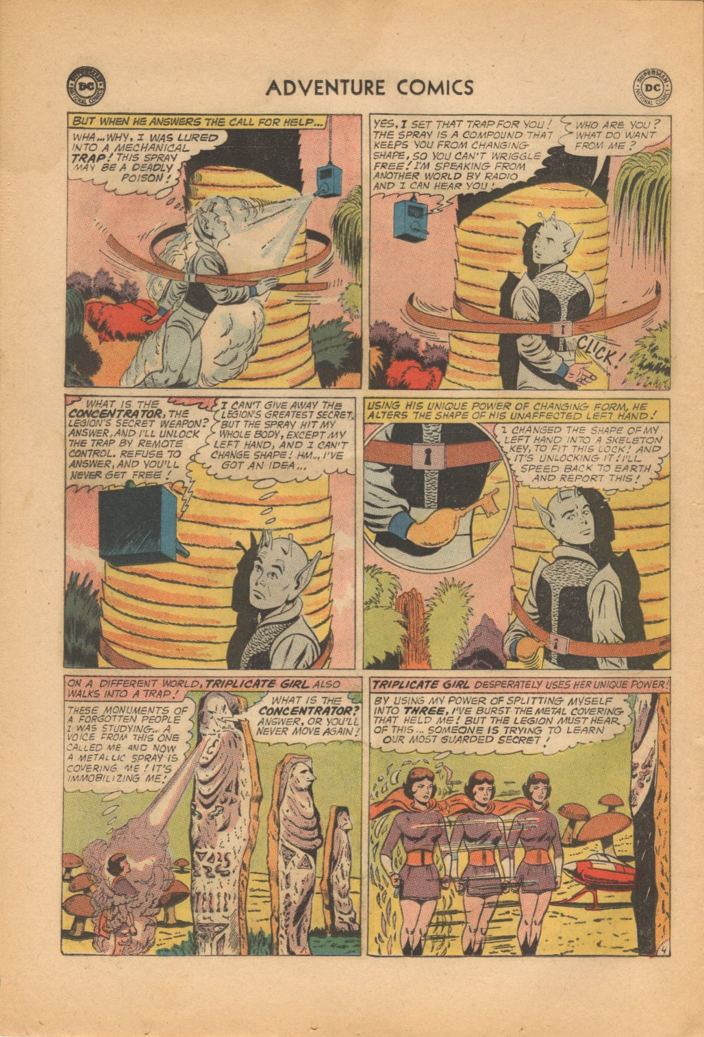 Read online Adventure Comics (1938) comic -  Issue #321 - 6