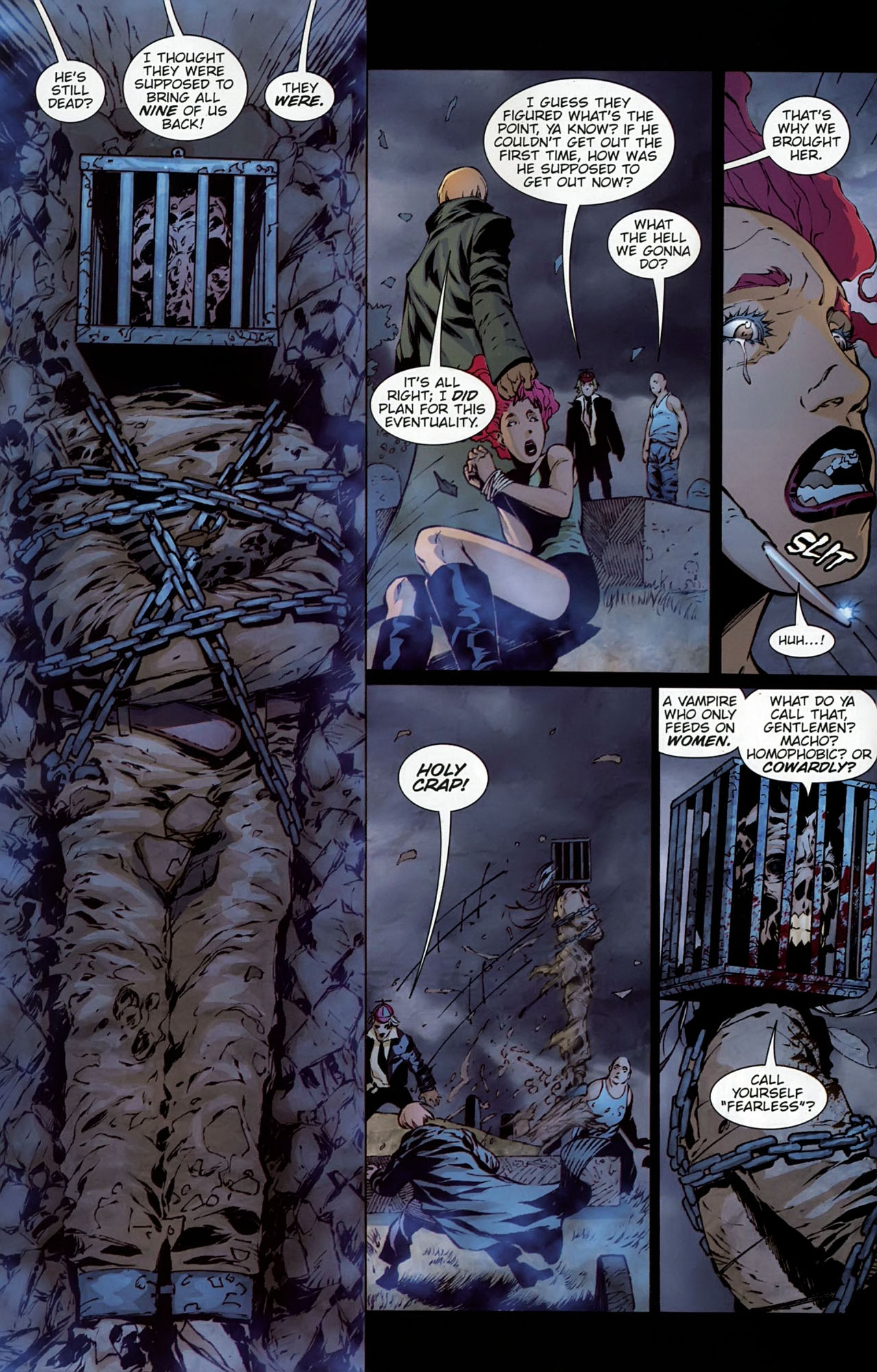 Read online Dead Romeo comic -  Issue #1 - 8