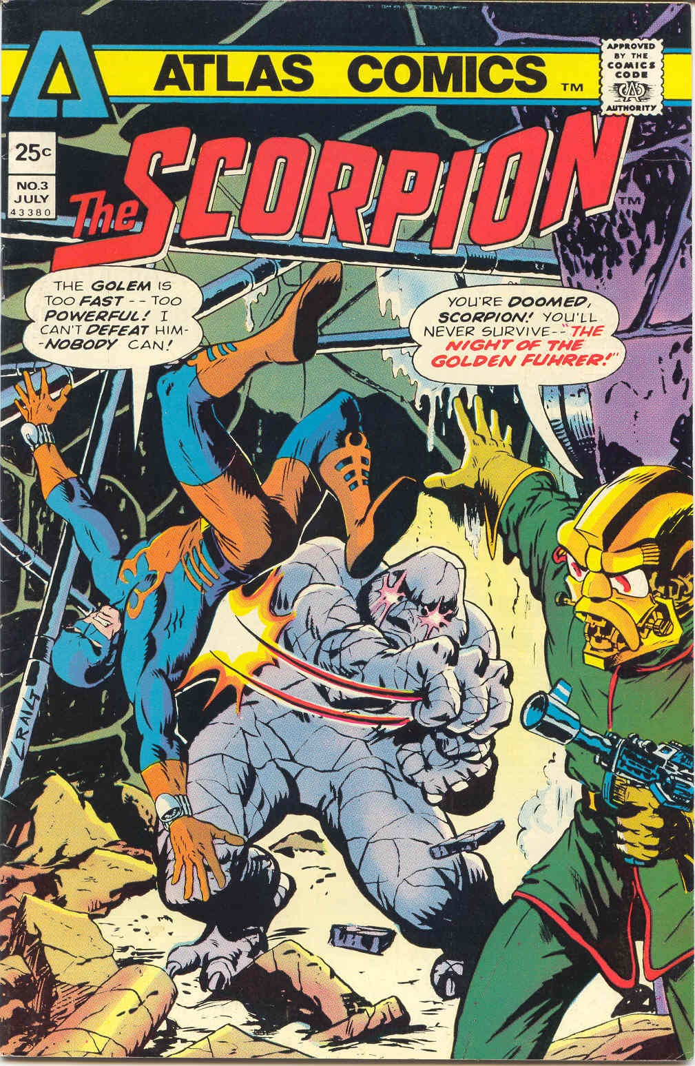The Scorpion (1975) issue 3 - Page 1