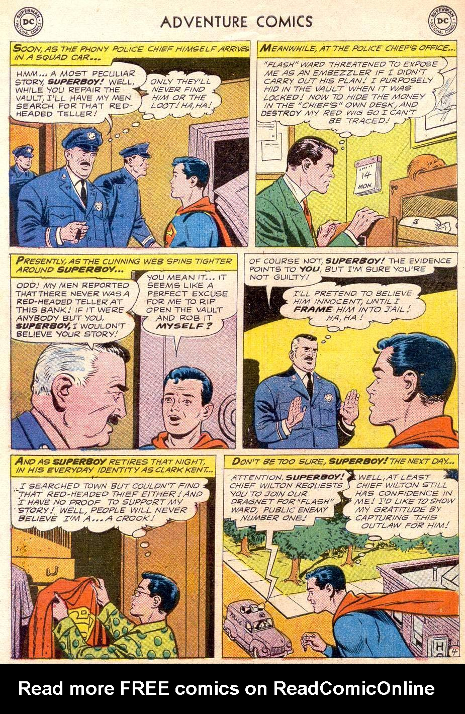 Read online Adventure Comics (1938) comic -  Issue #256 - 6