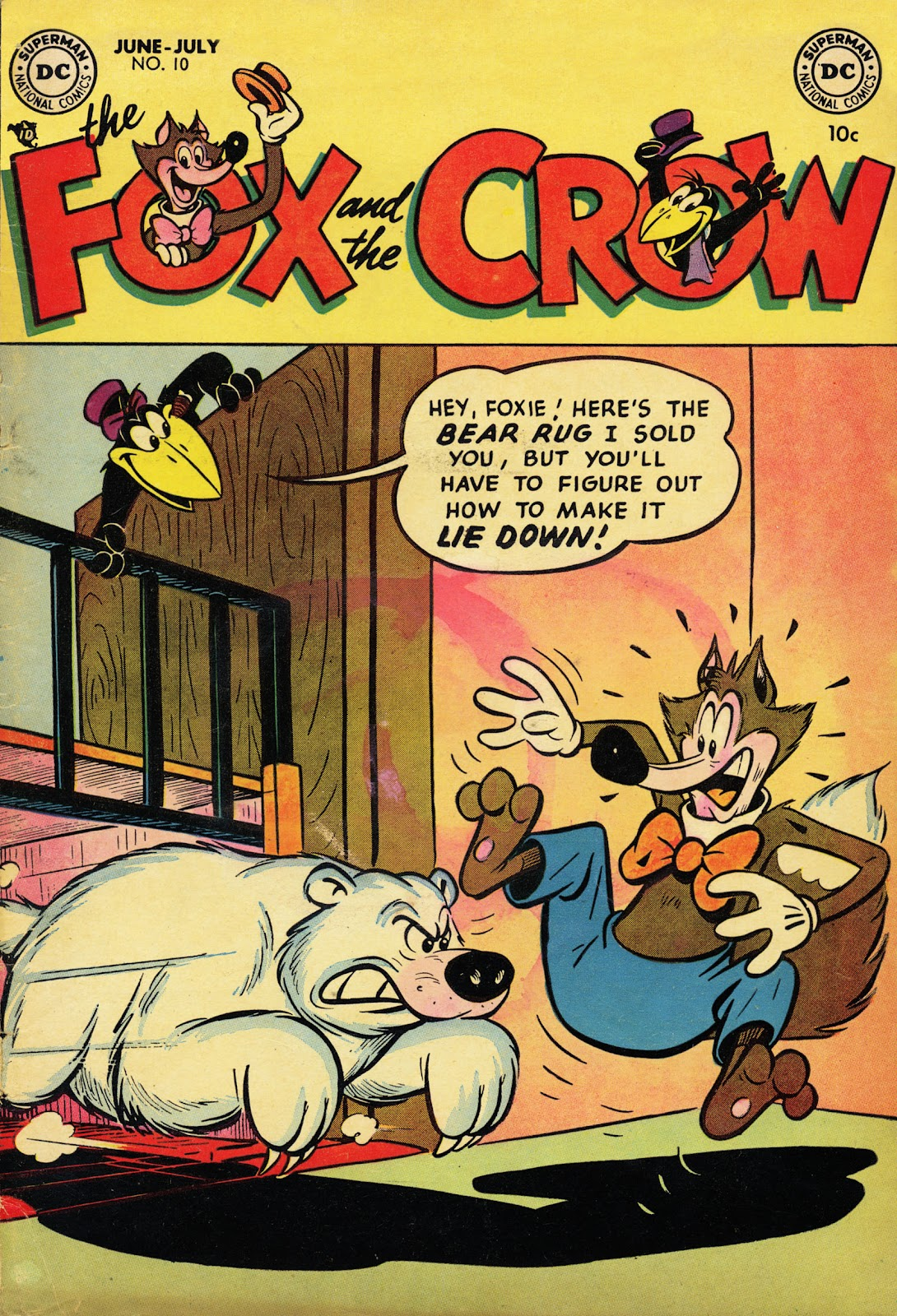 The Fox and the Crow issue 10 - Page 1