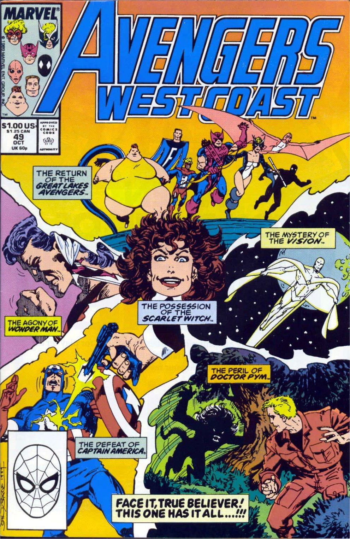 Avengers West Coast (1989) 49 Page 1
