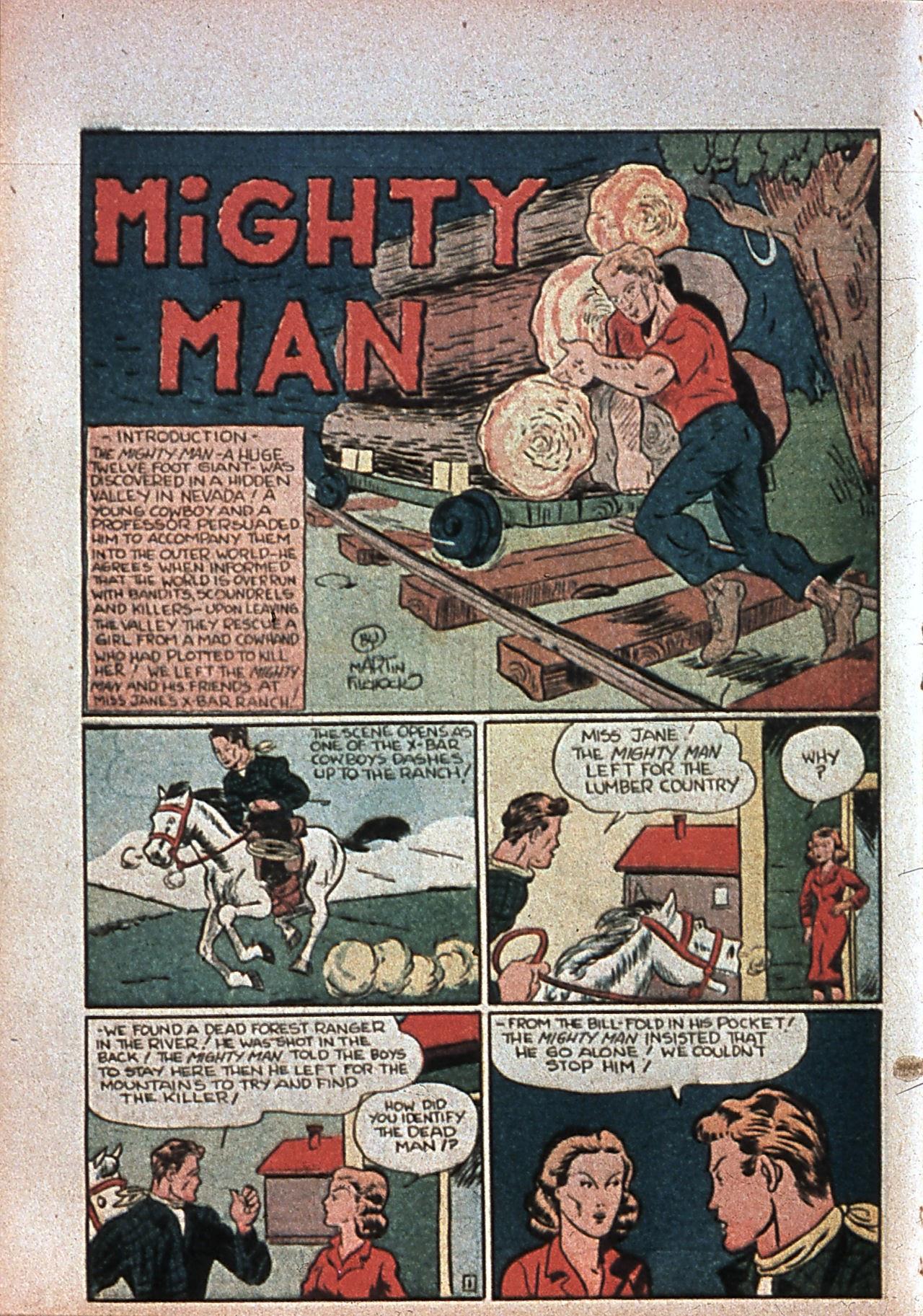 Read online Amazing Man Comics comic -  Issue #7 - 53