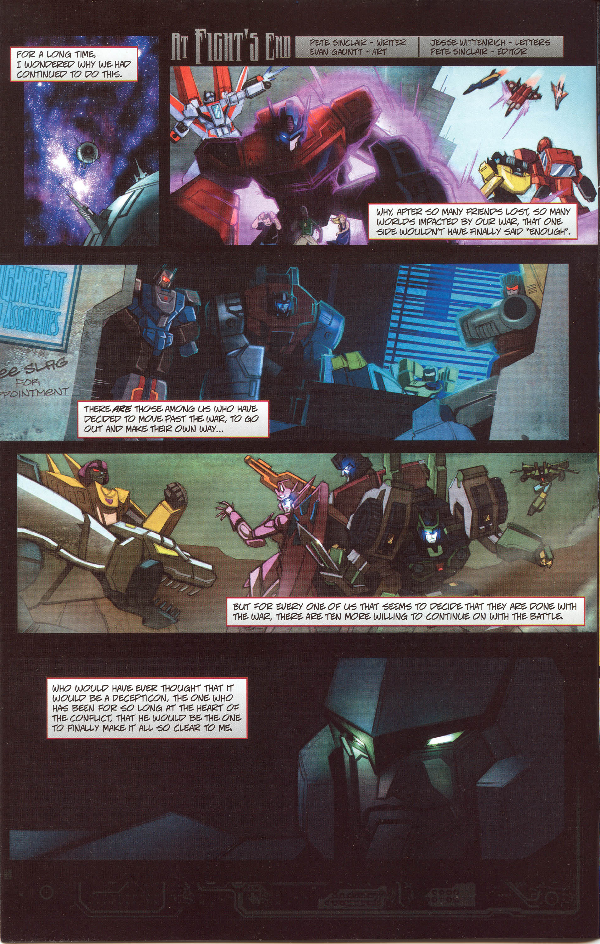 Read online Transformers: Collectors' Club comic -  Issue #30 - 4