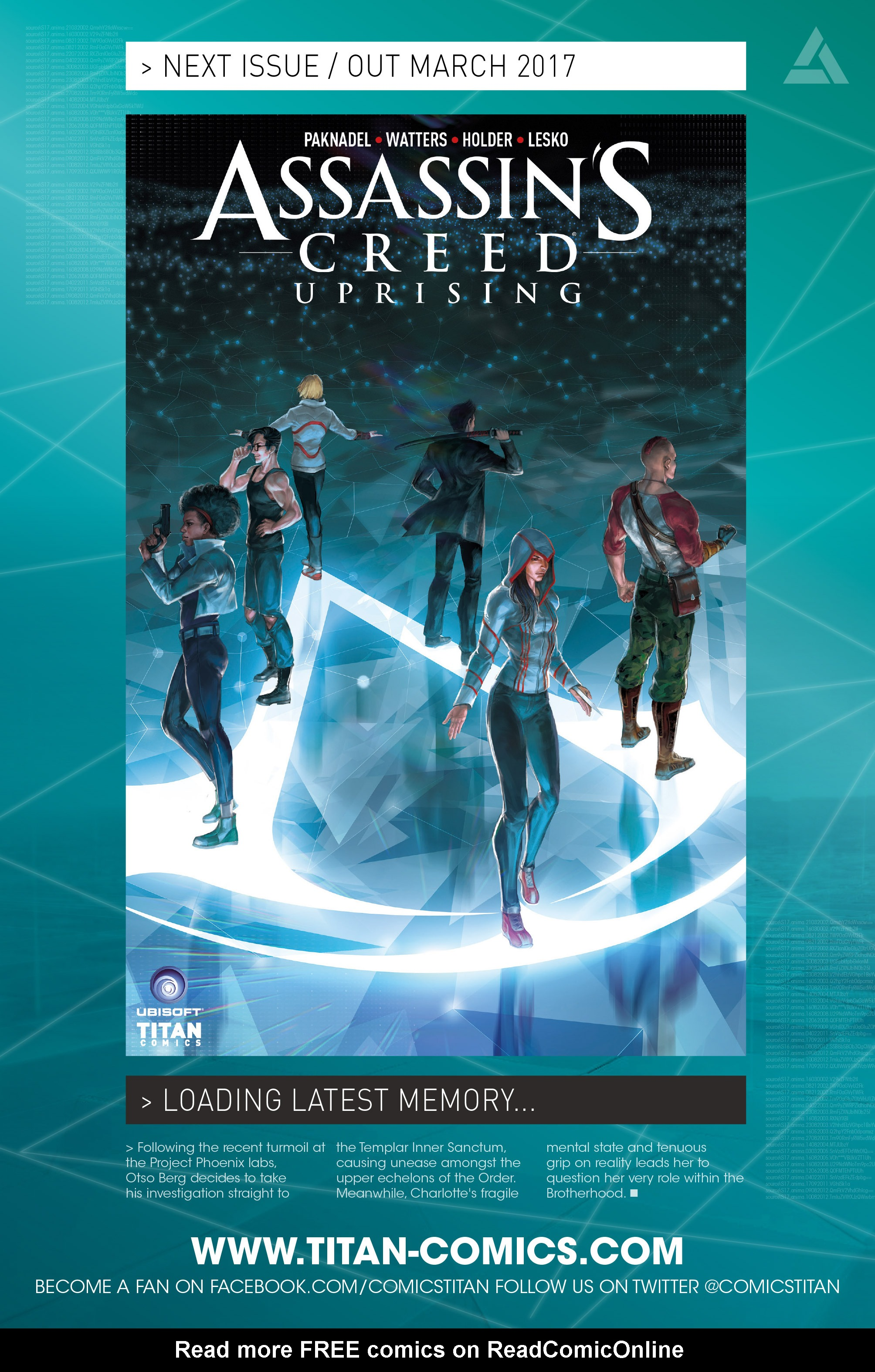 Read online Assassin's Creed: Uprising comic -  Issue #1 - 32