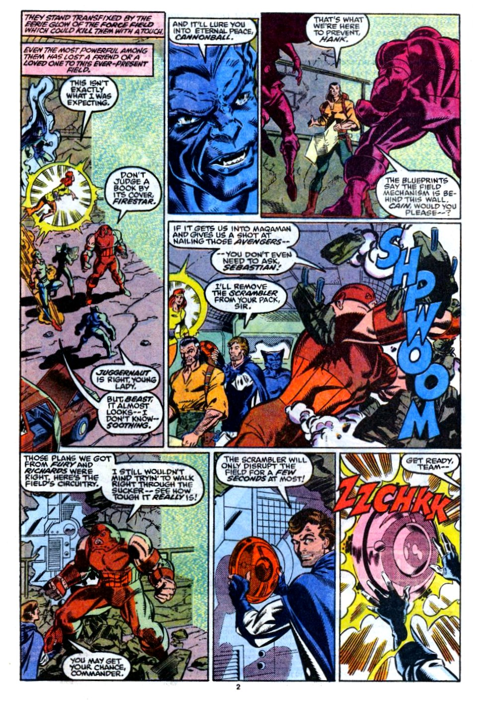 The New Warriors Issue #12 #16 - English 3