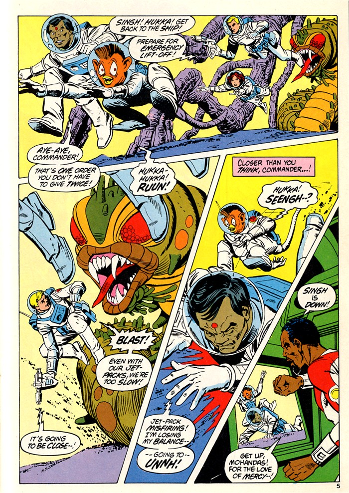 Read online Atari Force (1982) comic -  Issue #5 - 7