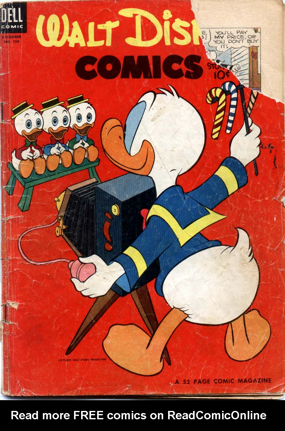 Walt Disneys Comics and Stories 159 Page 1