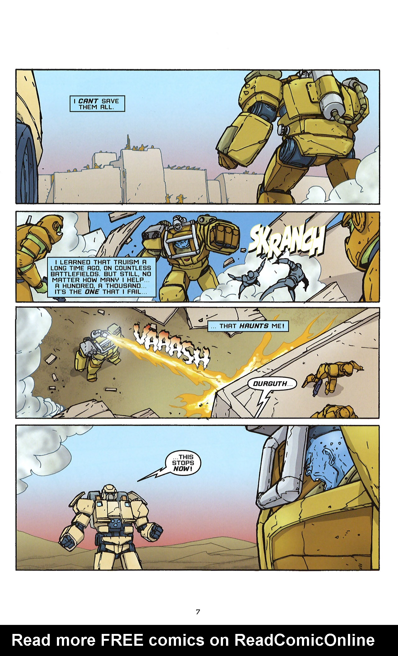 Read online Transformers: Saga of the Allspark comic -  Issue #2 - 10