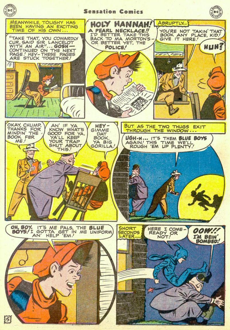 Read online Sensation (Mystery) Comics comic -  Issue #67 - 21