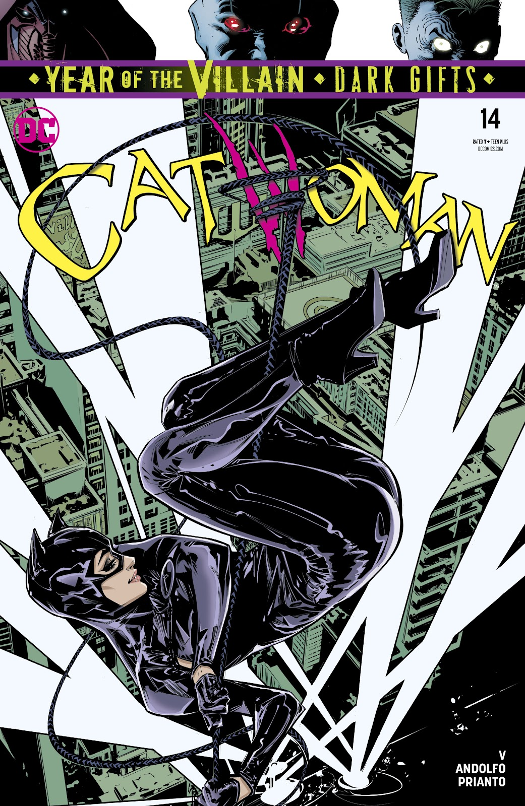 Catwoman (2018) issue 14 - Page 1