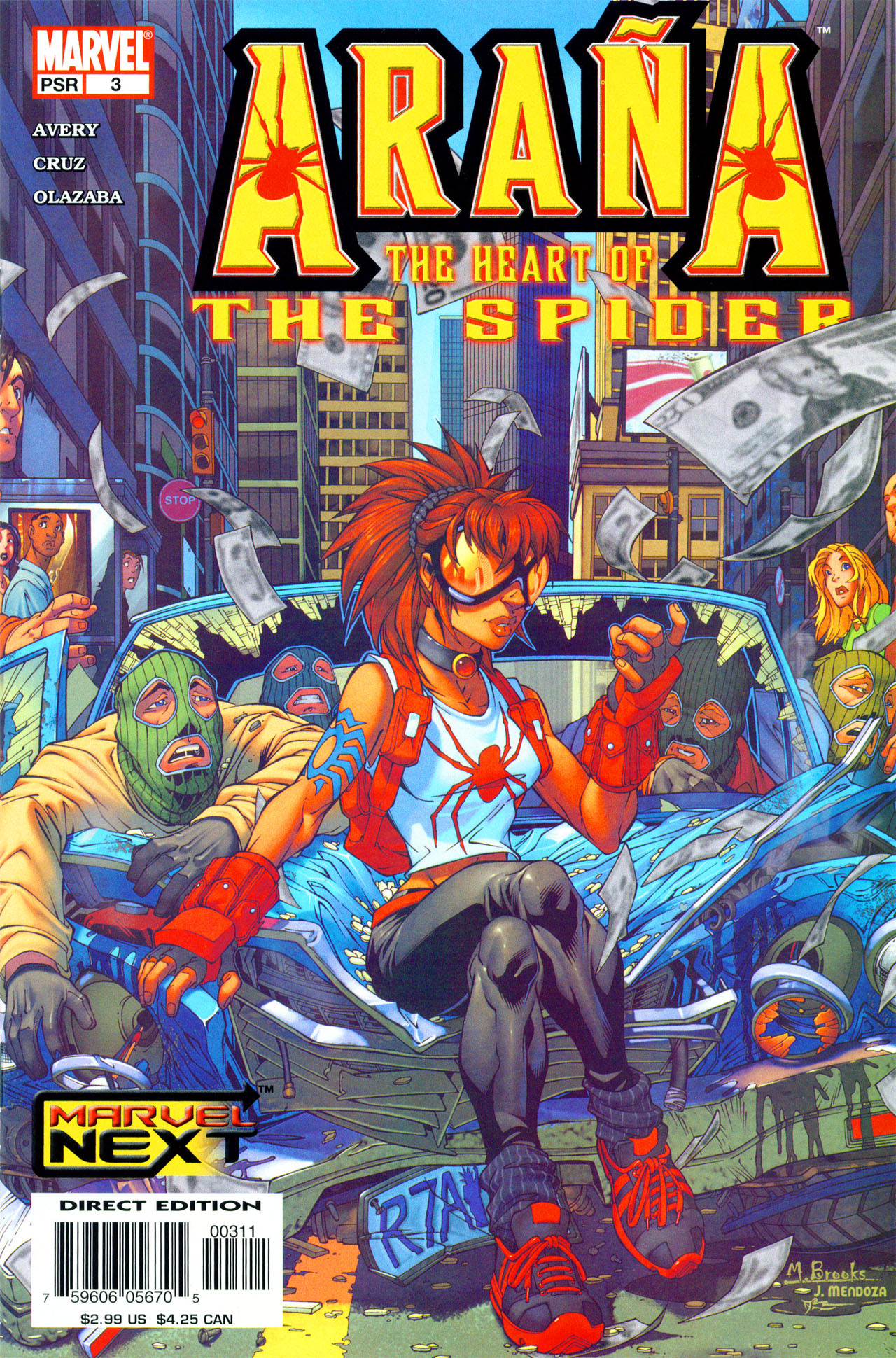 Read online Araña: Heart of the Spider comic -  Issue #3 - 1