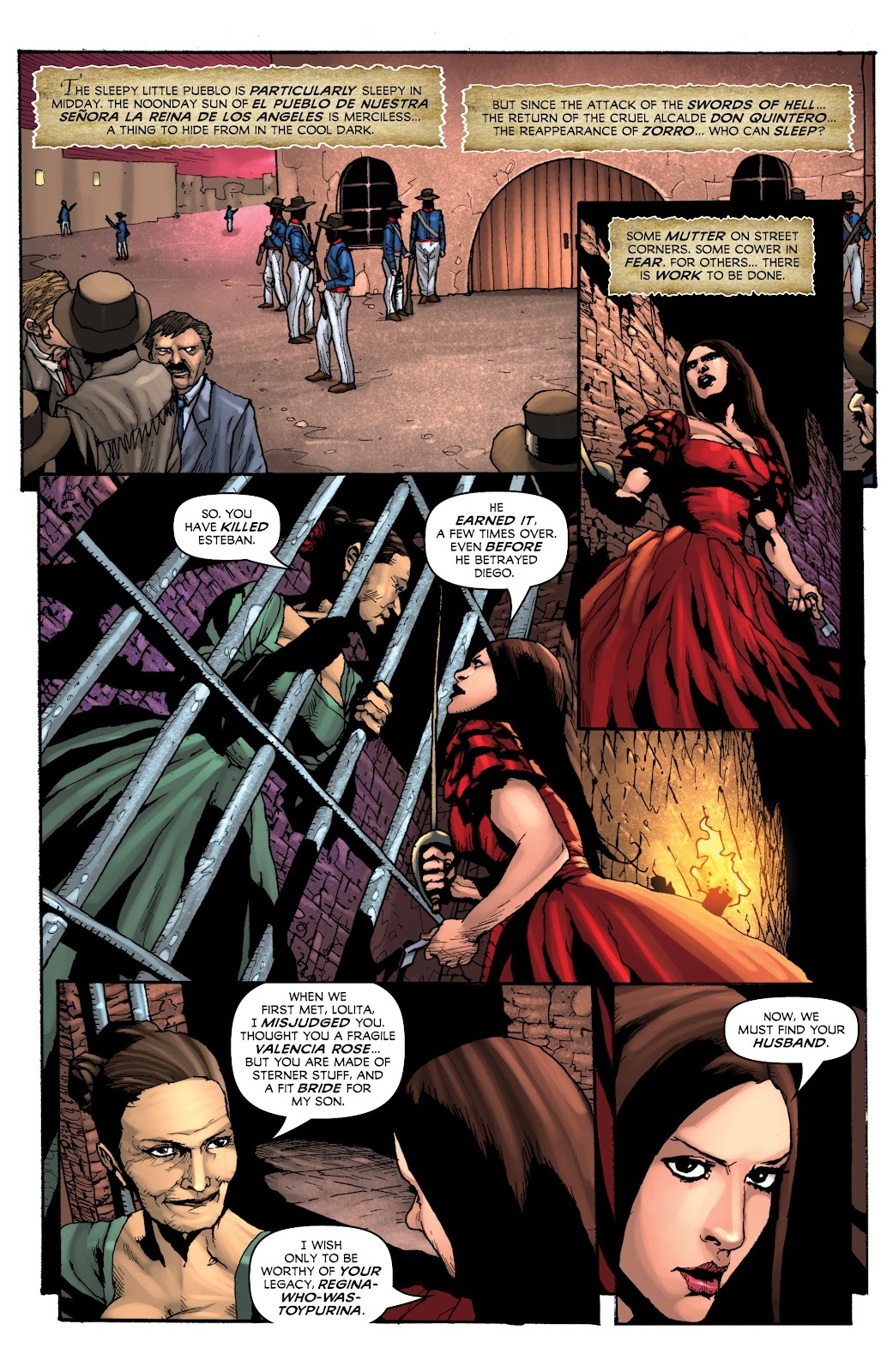 Read online Zorro: Swords of Hell comic -  Issue #4 - 3