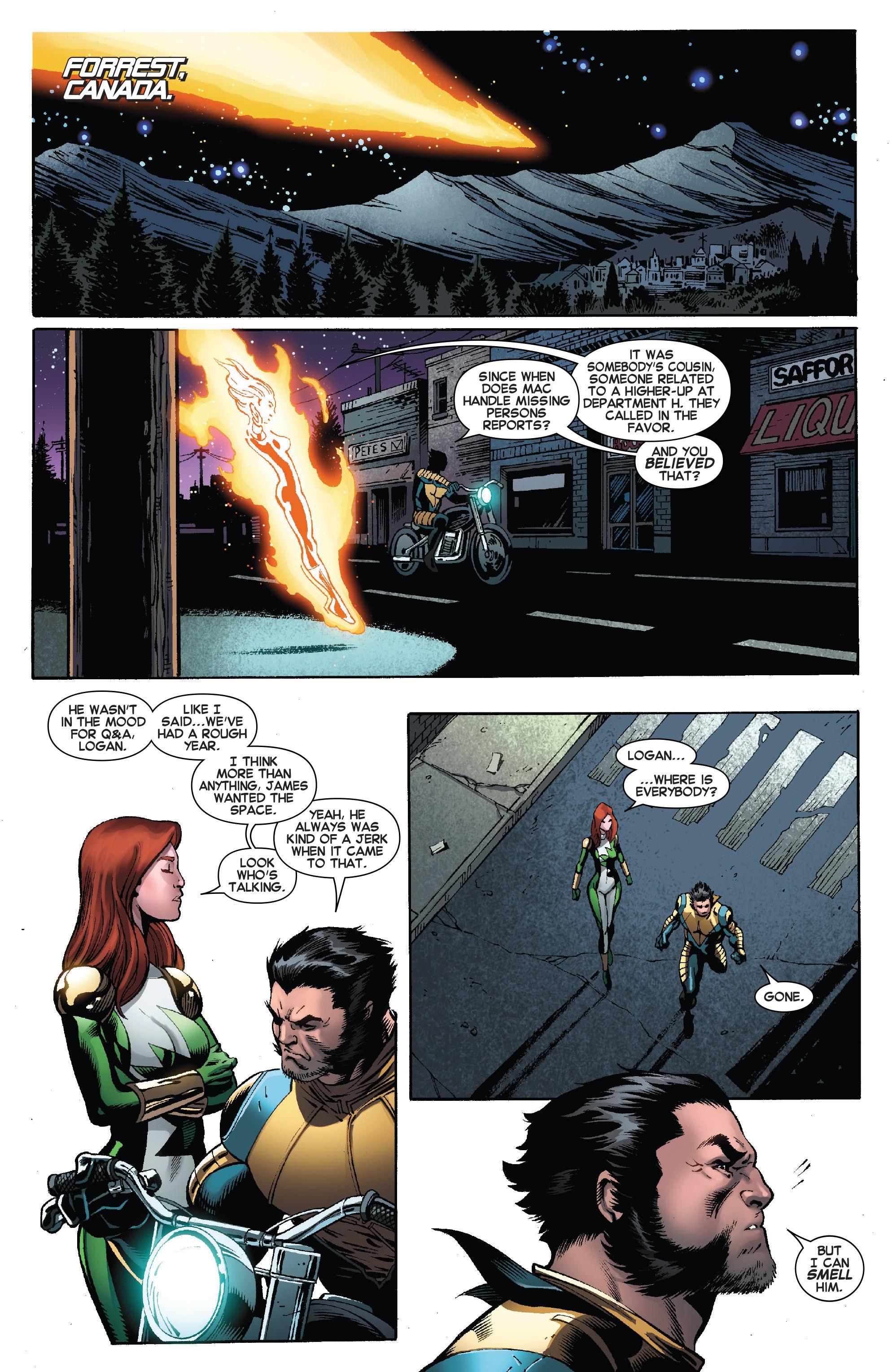 Read online Amazing X-Men (2014) comic -  Issue #8 - 11
