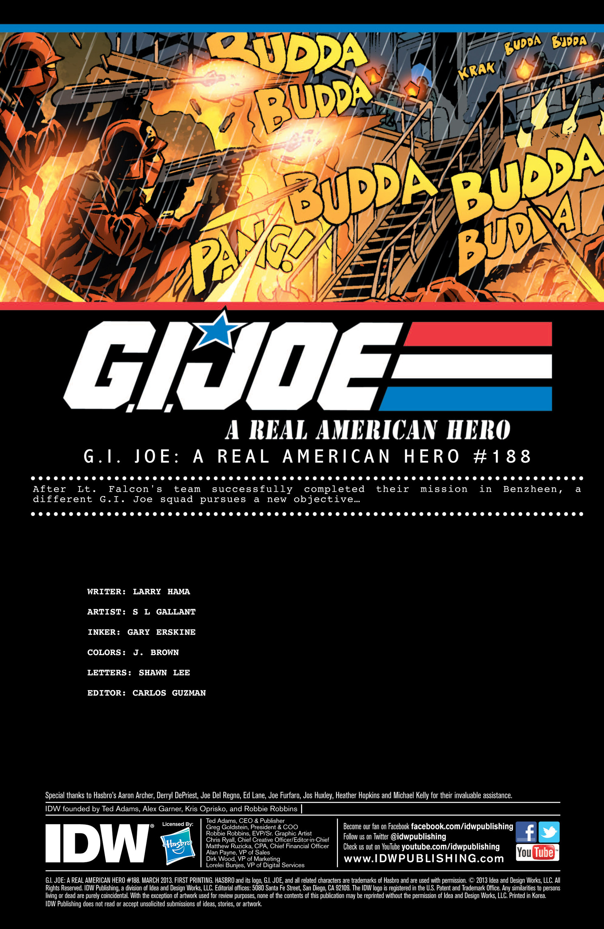 G.I. Joe: A Real American Hero 188 Page 1