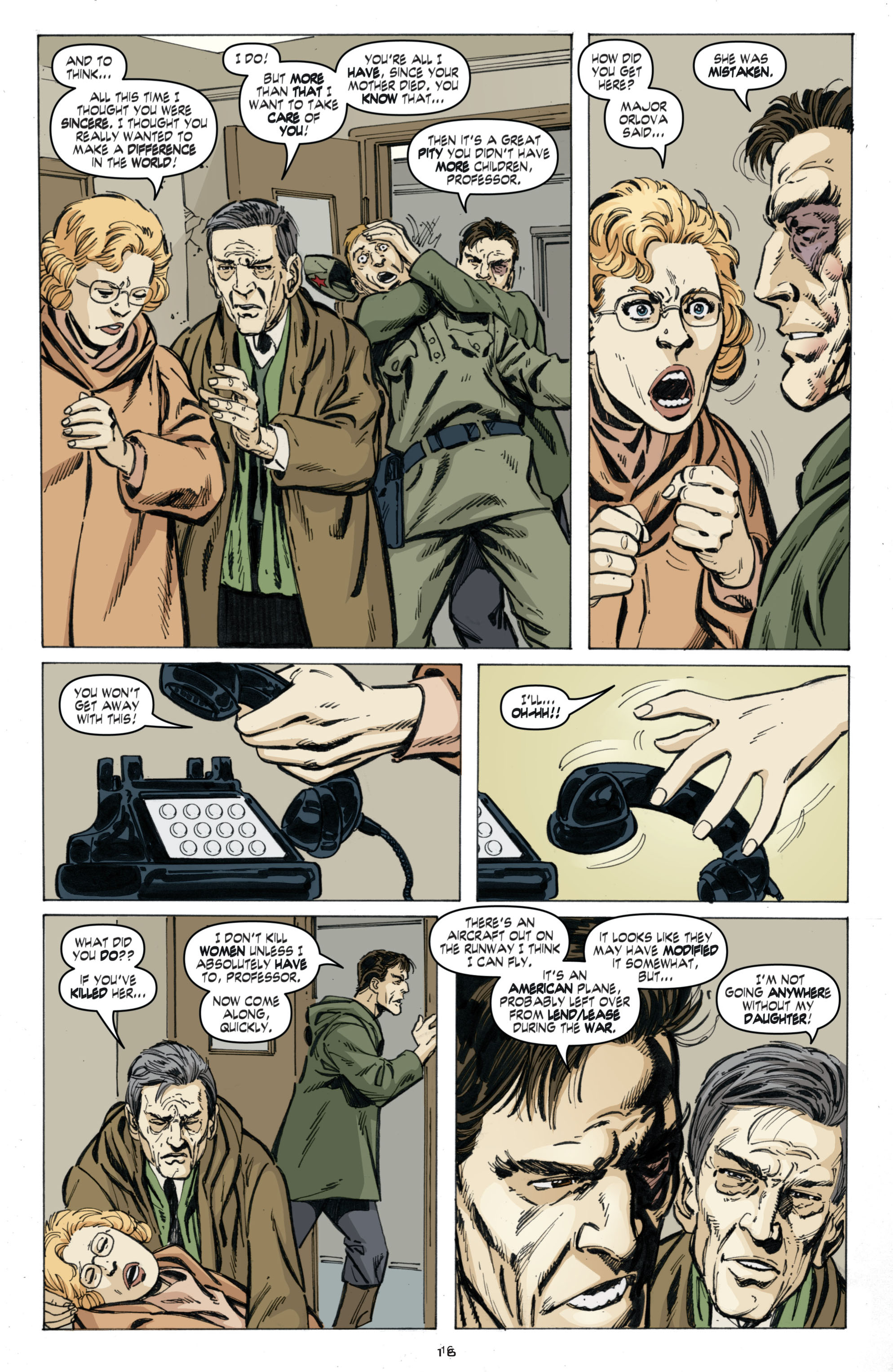 Read online Cold War comic -  Issue # TPB - 100