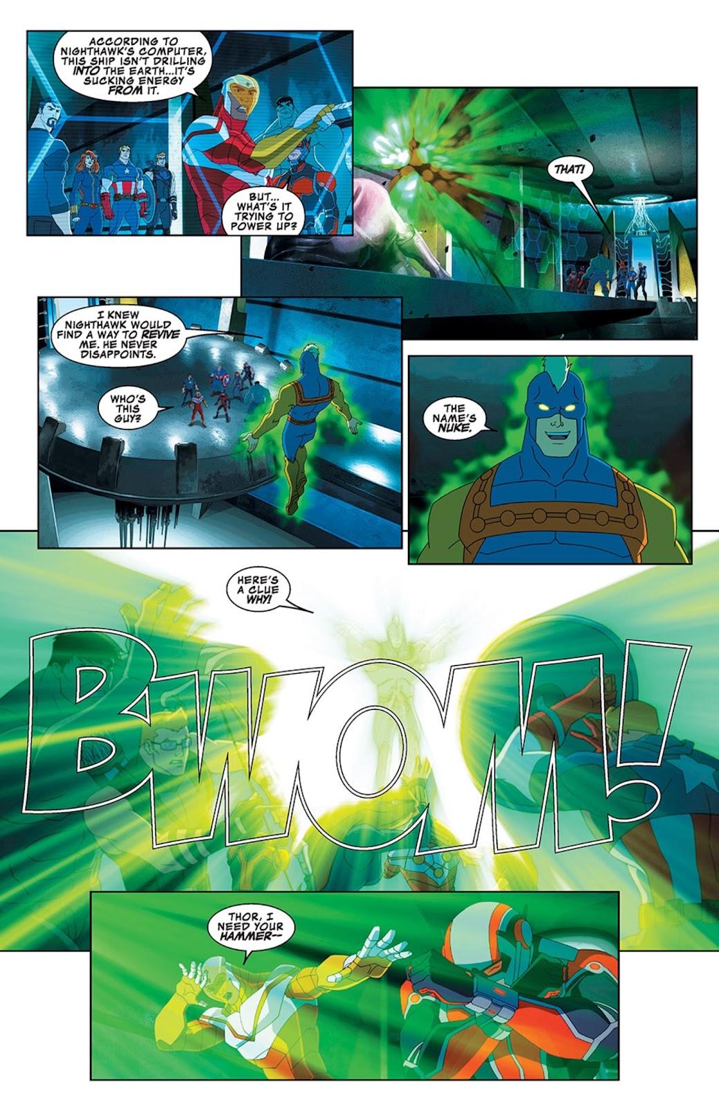 Read online Marvel Universe Avengers Assemble Season 2 comic -  Issue #13 - 26