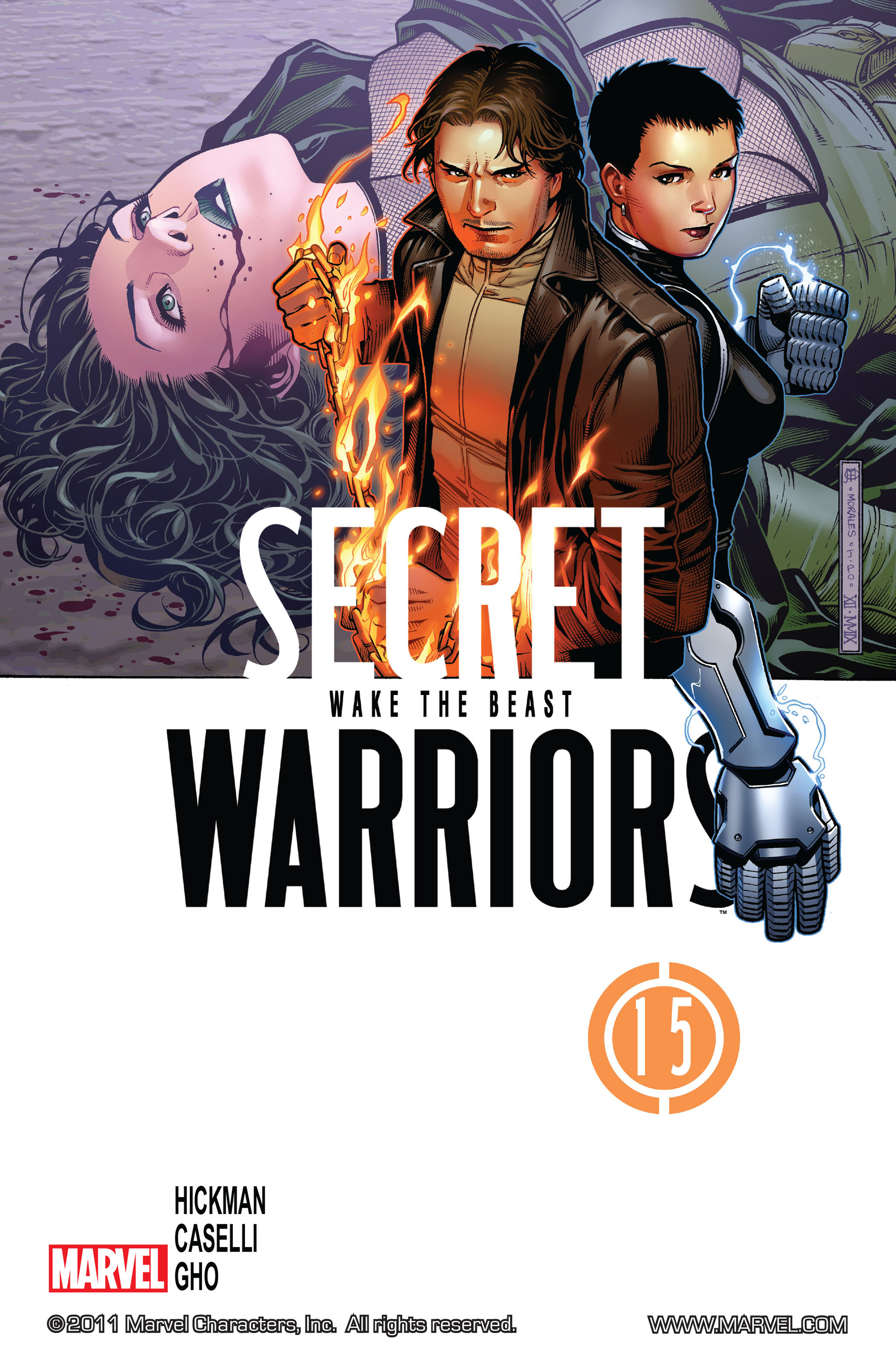 Read online Secret Warriors comic -  Issue #15 - 2