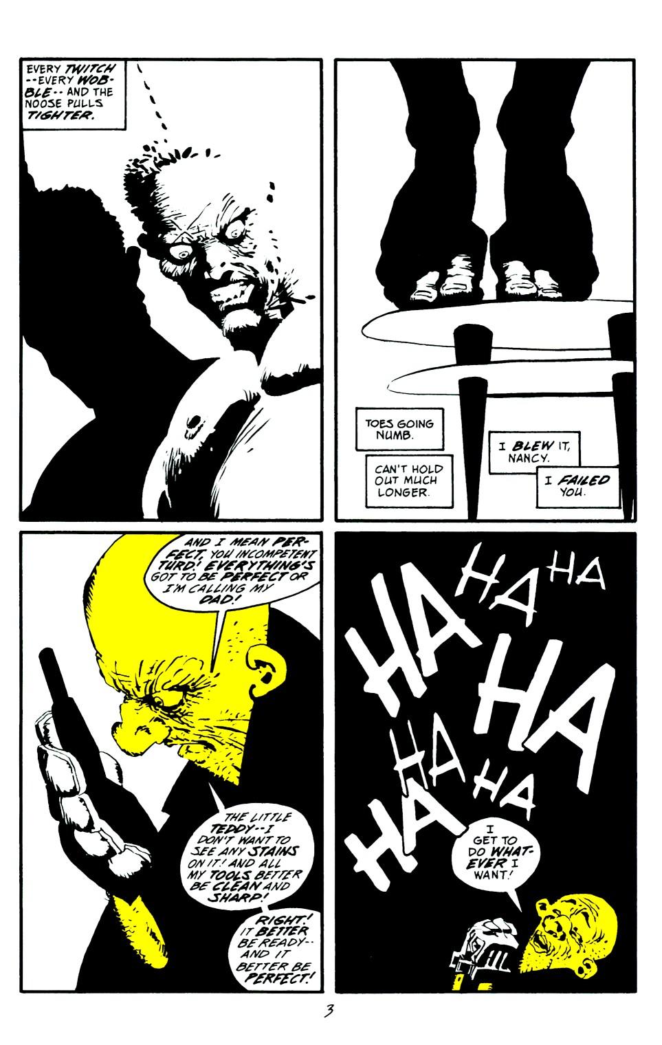 Read online Sin City: That Yellow Bastard comic -  Issue #6 - 4