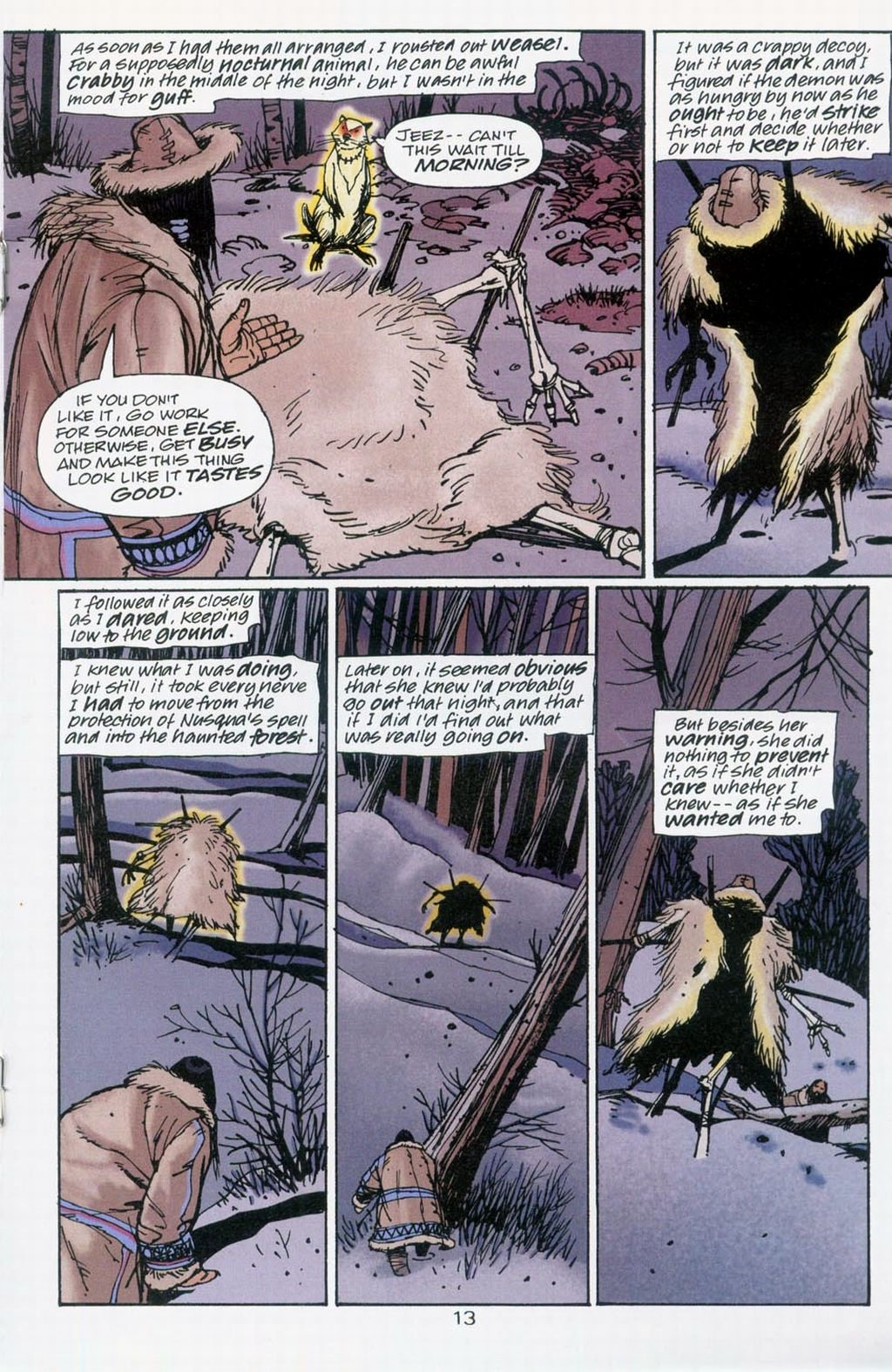 Muktuk Wolfsbreath: Hard-Boiled Shaman issue 1 - Page 13