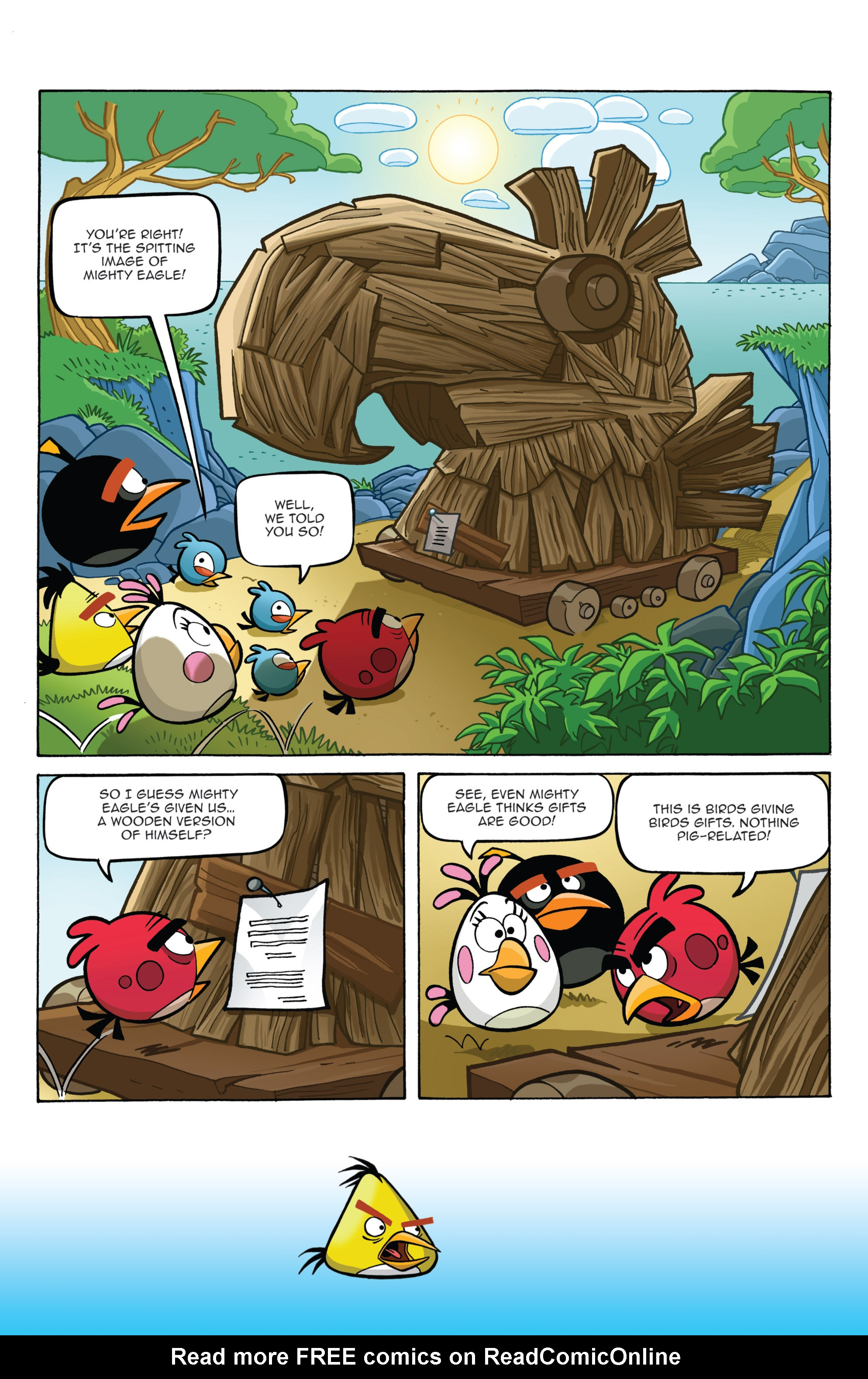 Read online Angry Birds Comics (2014) comic -  Issue #2 - 8