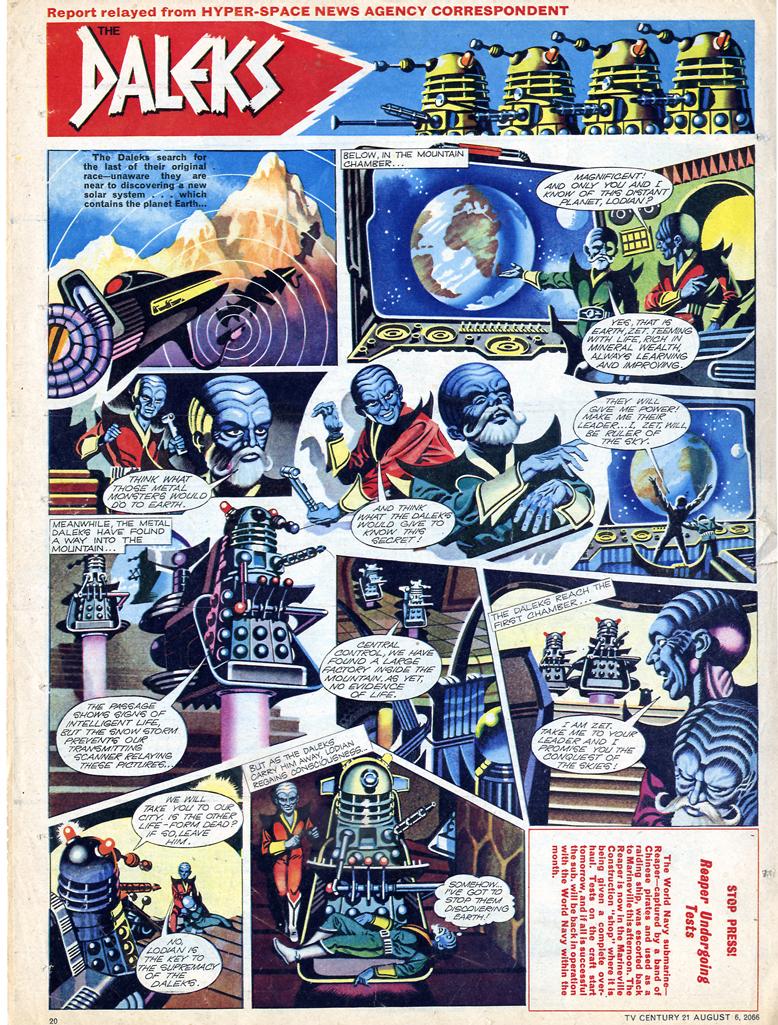 Read online TV Century 21 (TV 21) comic -  Issue #81 - 19