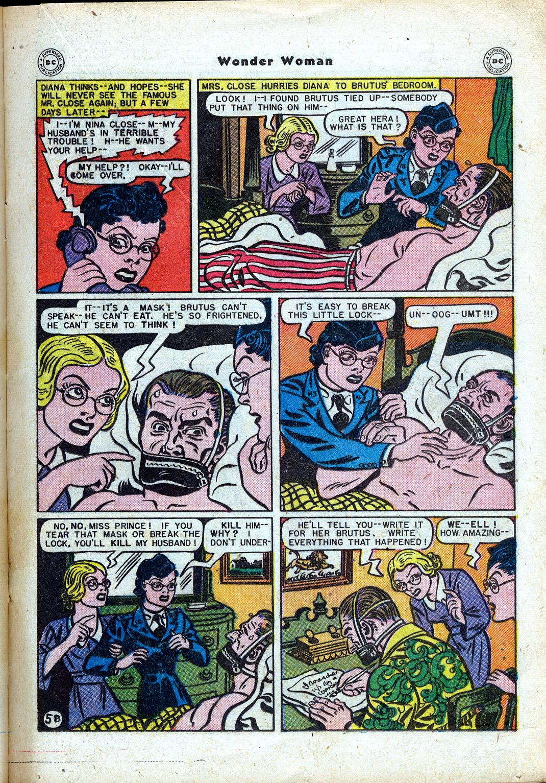 Read online Wonder Woman (1942) comic -  Issue #24 - 25