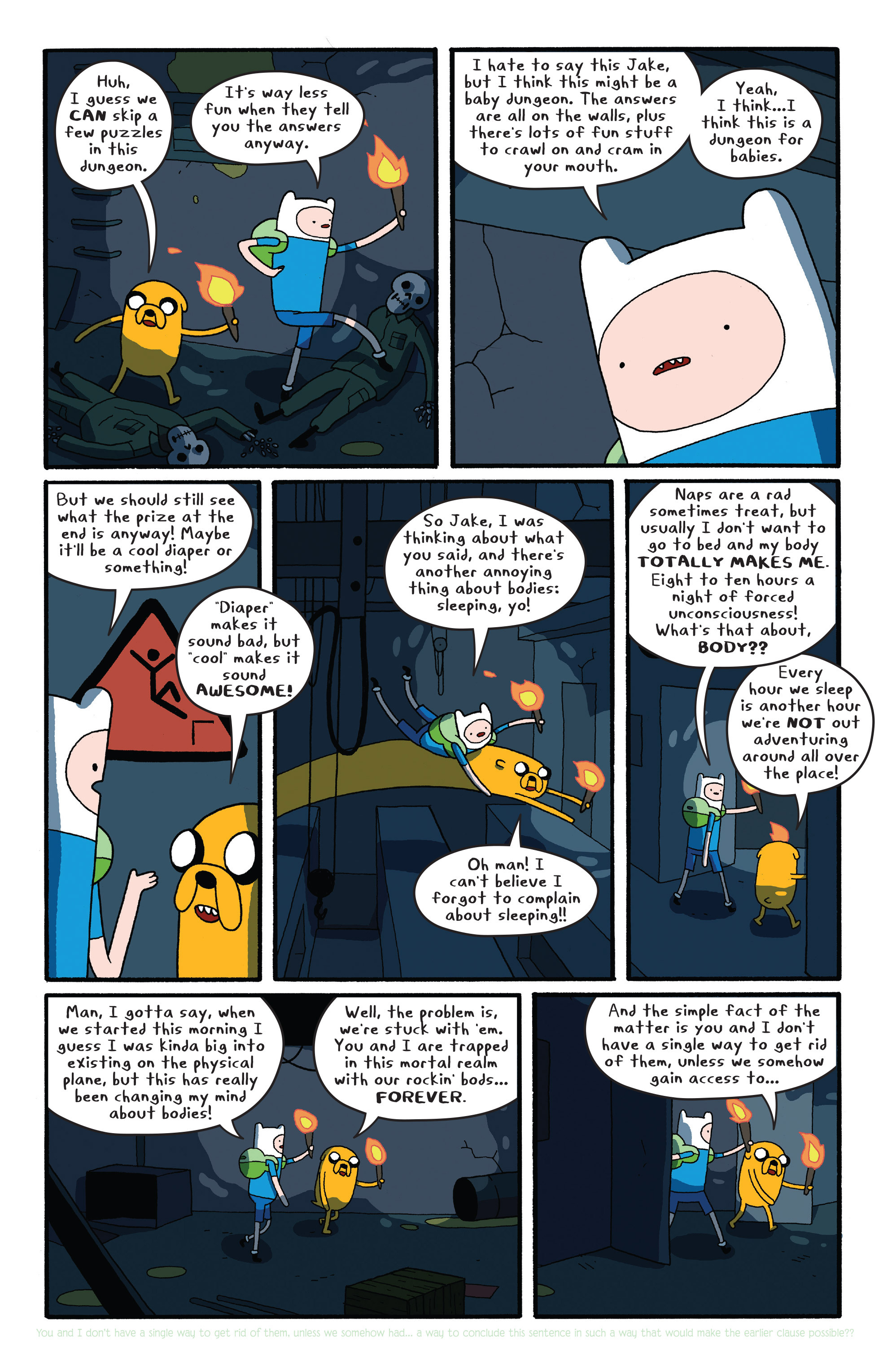 Read online Adventure Time comic -  Issue #26 - 17