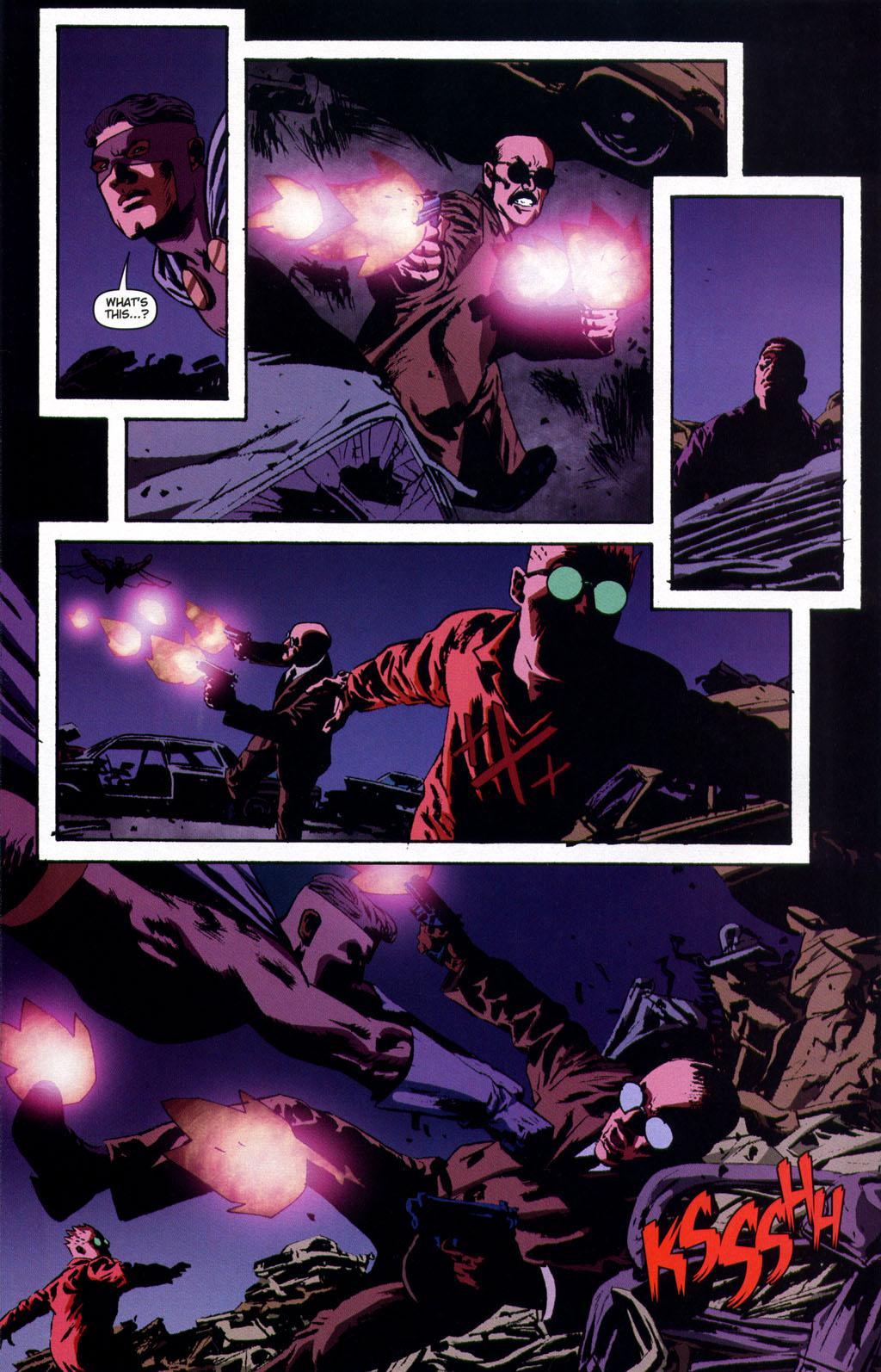 Read online Sleeper comic -  Issue #9 - 20