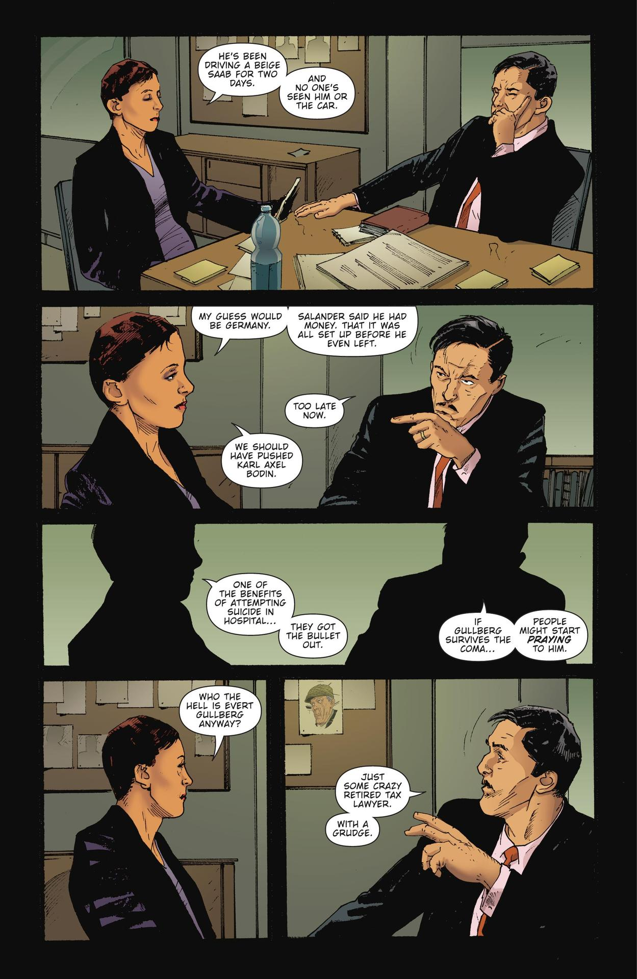 Read online The Girl Who Kicked The Hornet's Nest comic -  Issue # TPB - 105