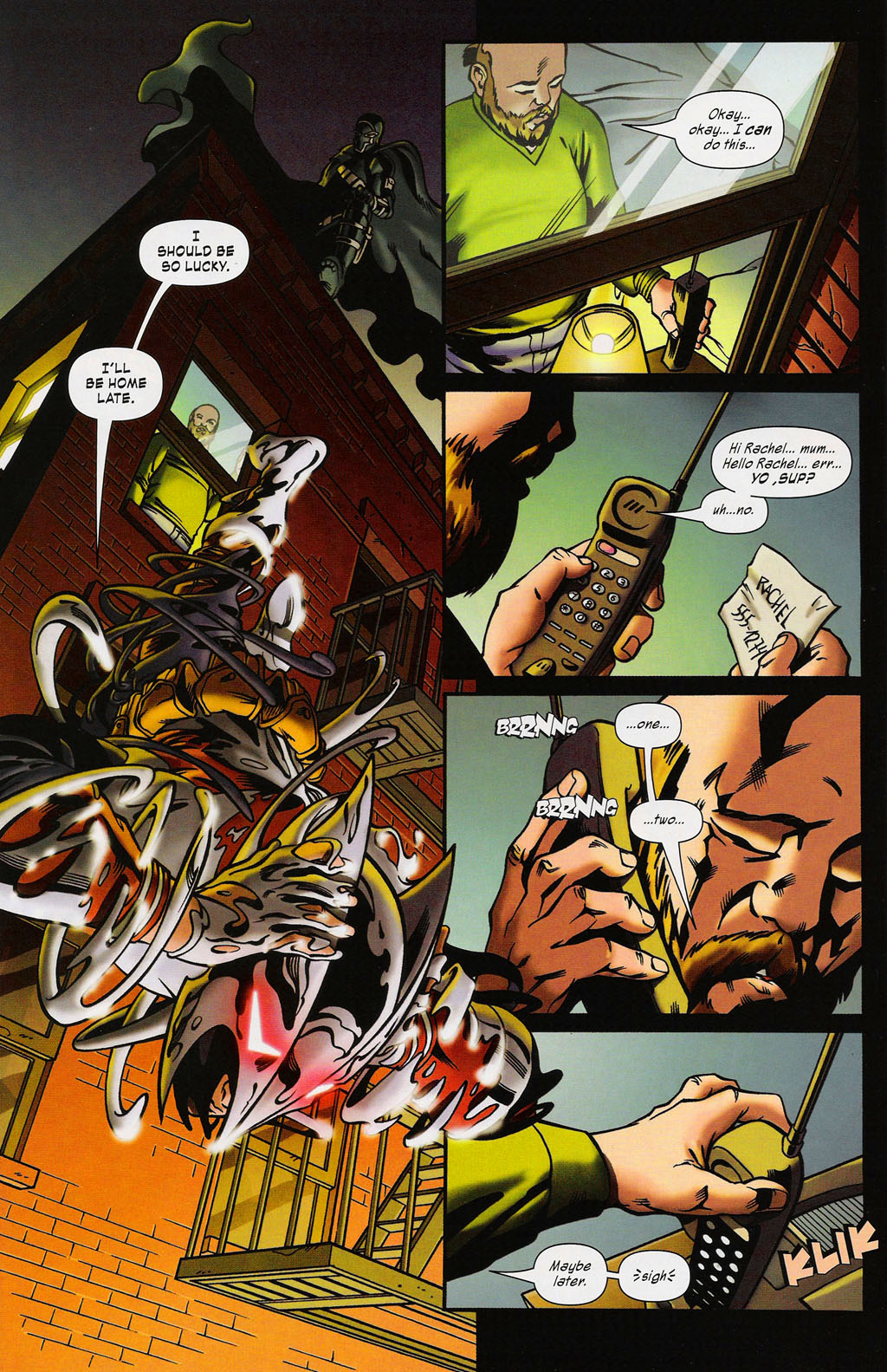 Read online ShadowHawk (2005) comic -  Issue #3 - 9