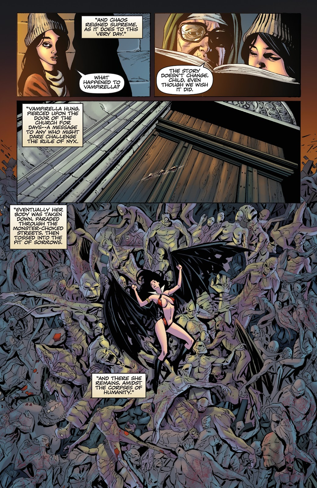 Read online Vengeance of Vampirella (2019) comic -  Issue #1 - 10