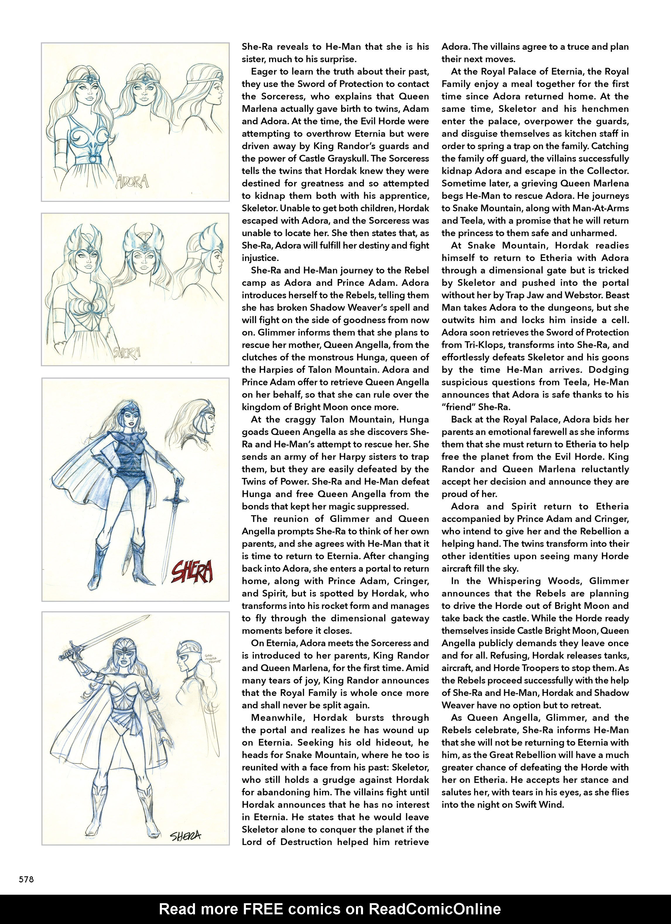 Read online He-Man and She-Ra: A Complete Guide to the Classic Animated Adventures comic -  Issue # TPB (Part 3) - 178