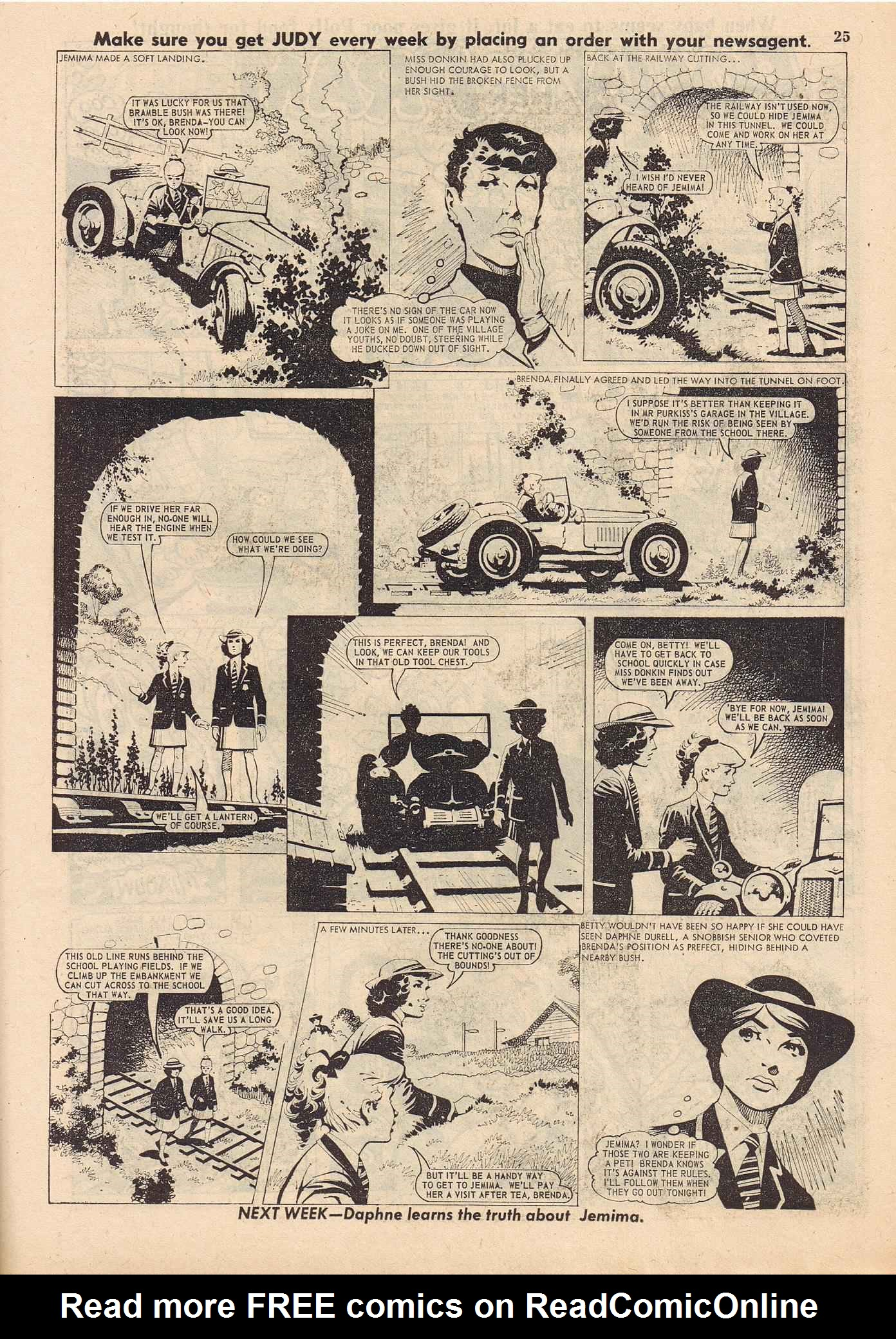 Read online Judy comic -  Issue #316 - 25