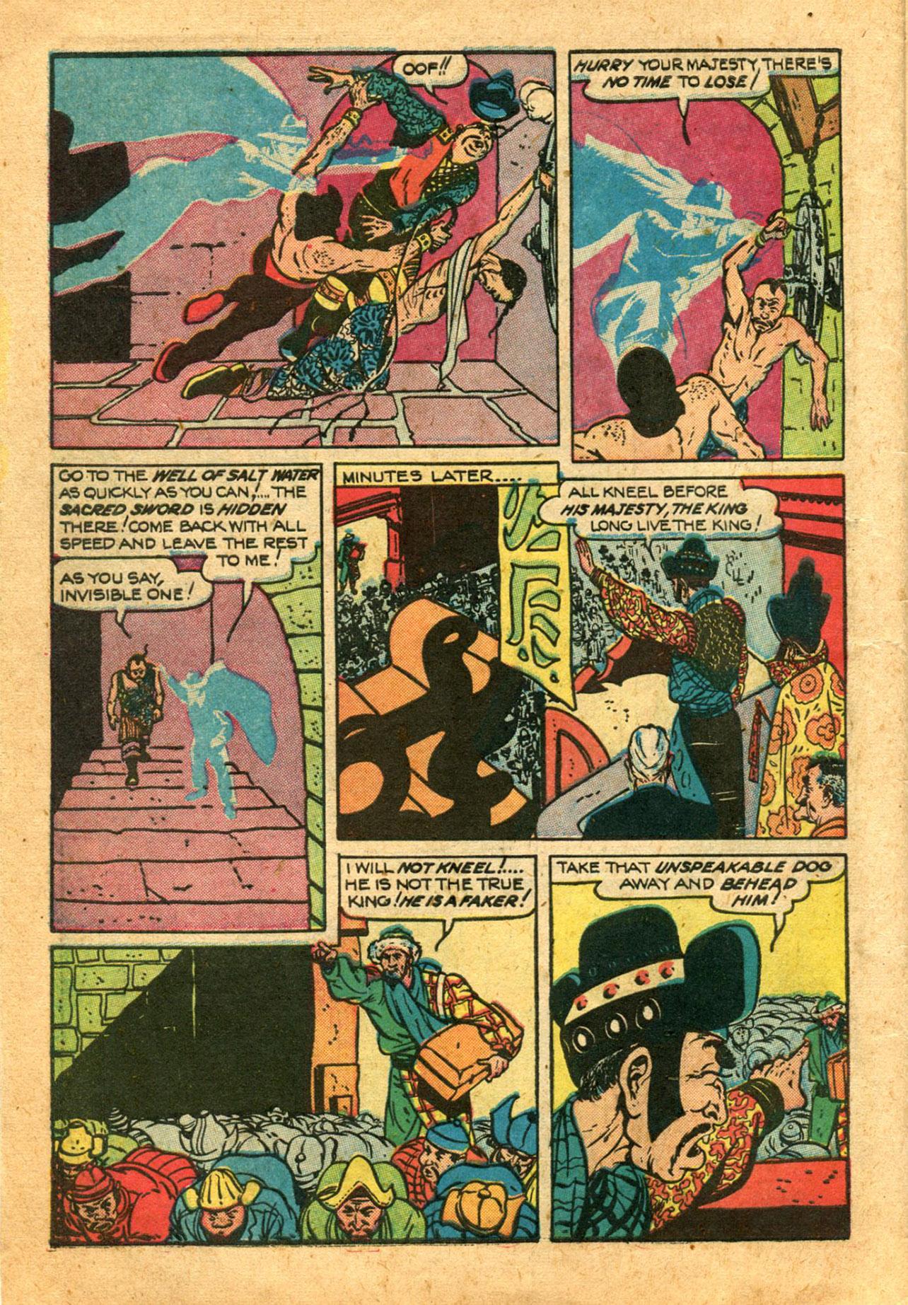 Read online Shadow Comics comic -  Issue #78 - 12